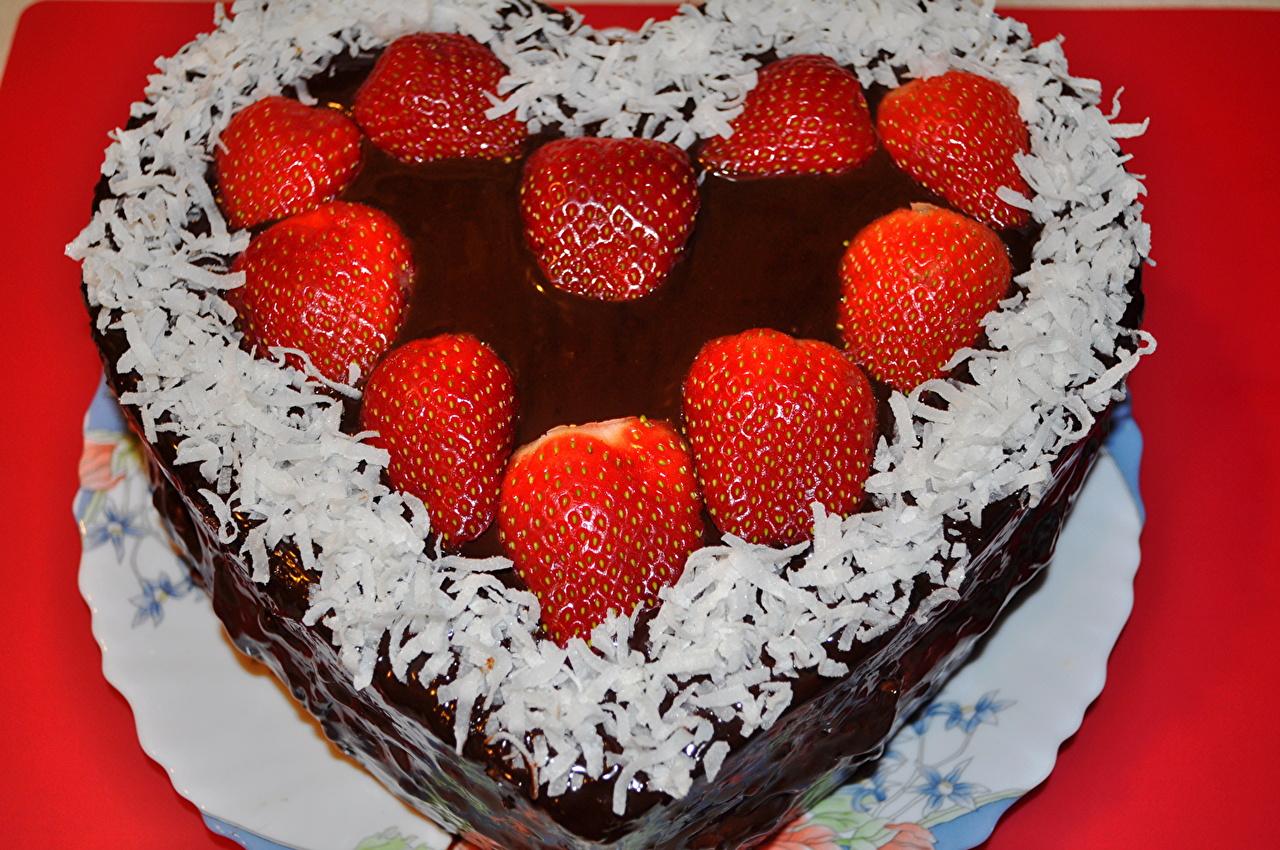 Как сделать тортик сердечком