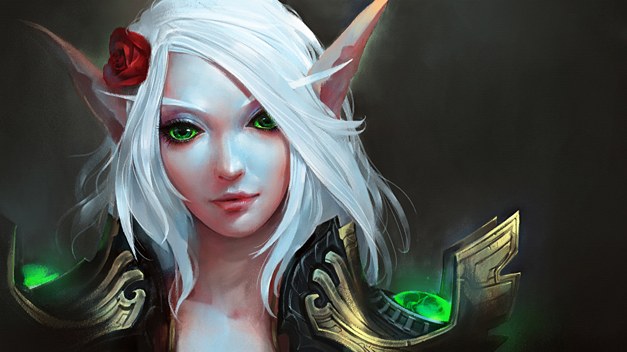 Blood elf female art sexy film