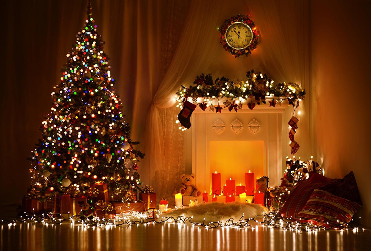 Новый год картинки красивые с ёлкой