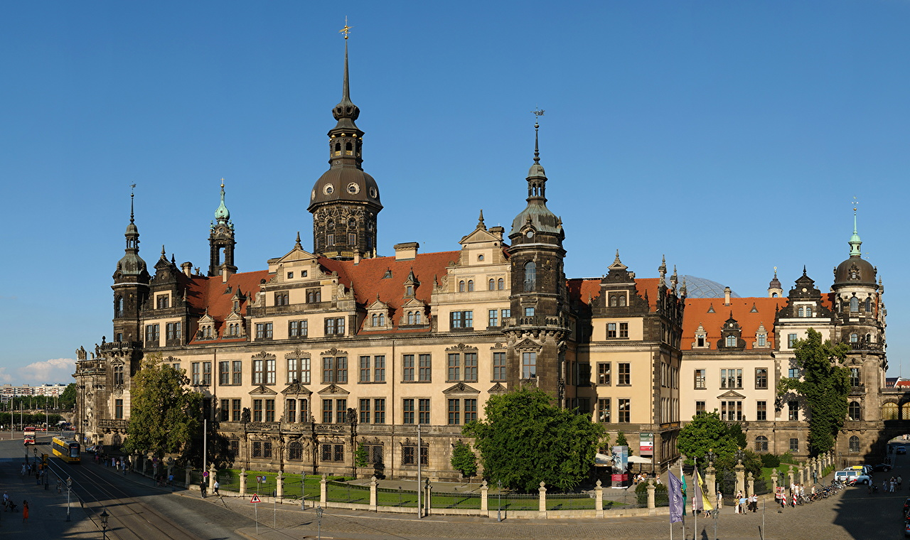 ����� Dresden Castle Germany ������