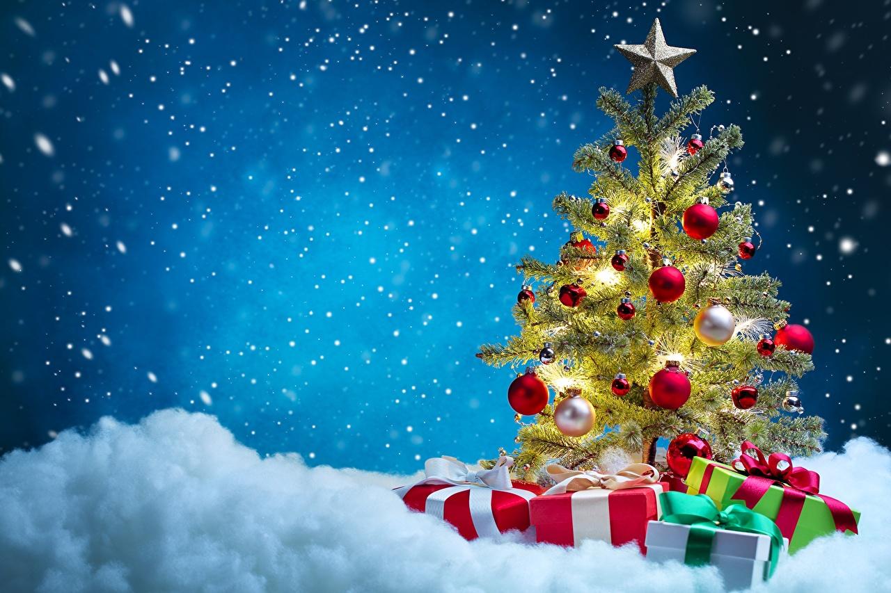 Елка новогодний подарок