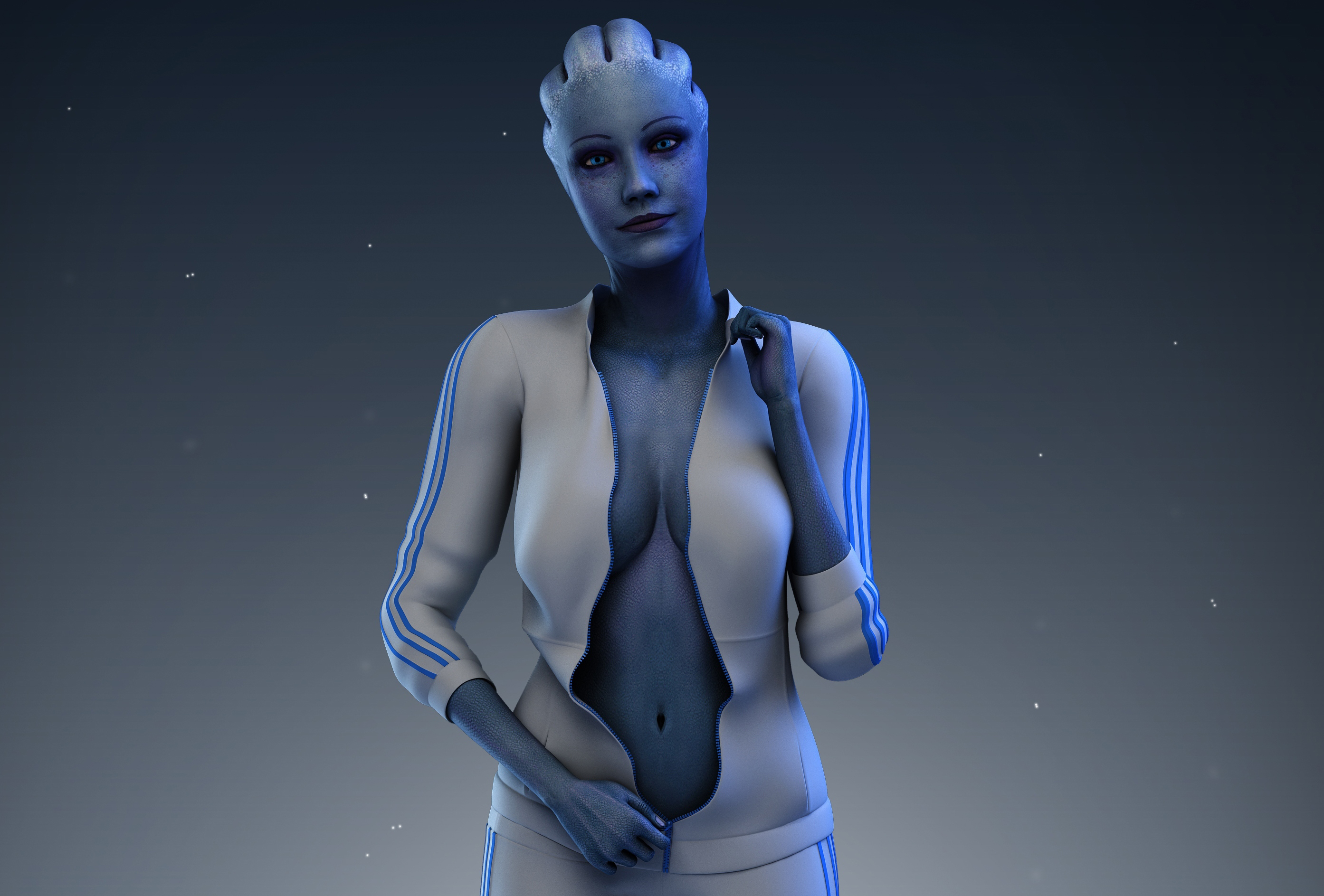 Mass effect liara bound gagged stories hentia films