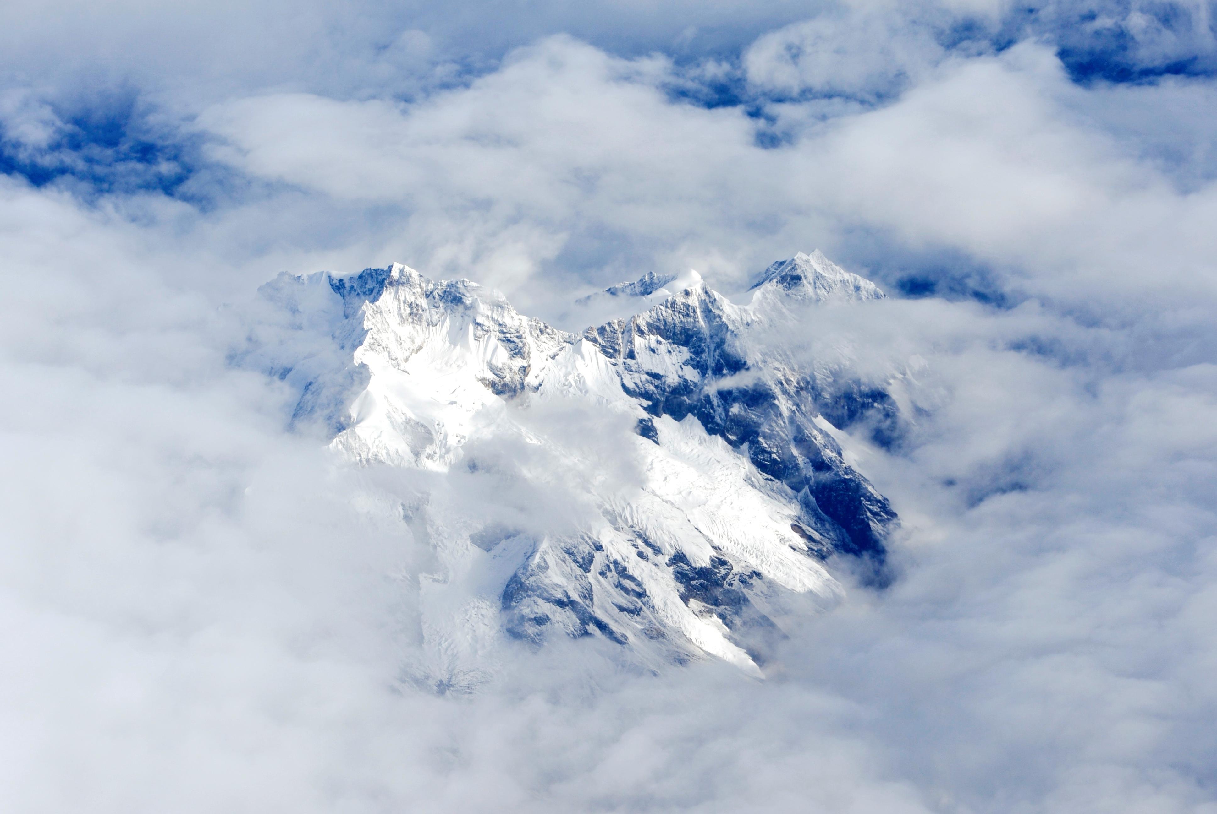 горы скалы небо облака высота природа  № 3352116 загрузить