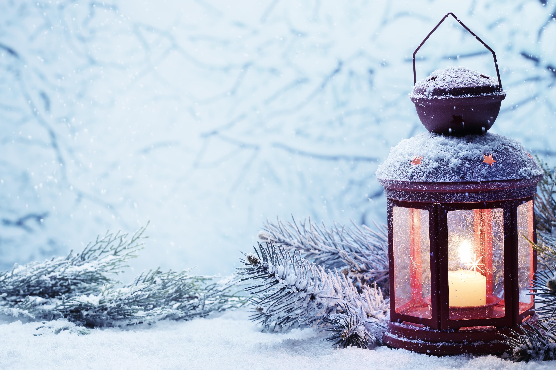лампа свеча снег рождество lamp candle snow Christmas  № 3982769 без смс
