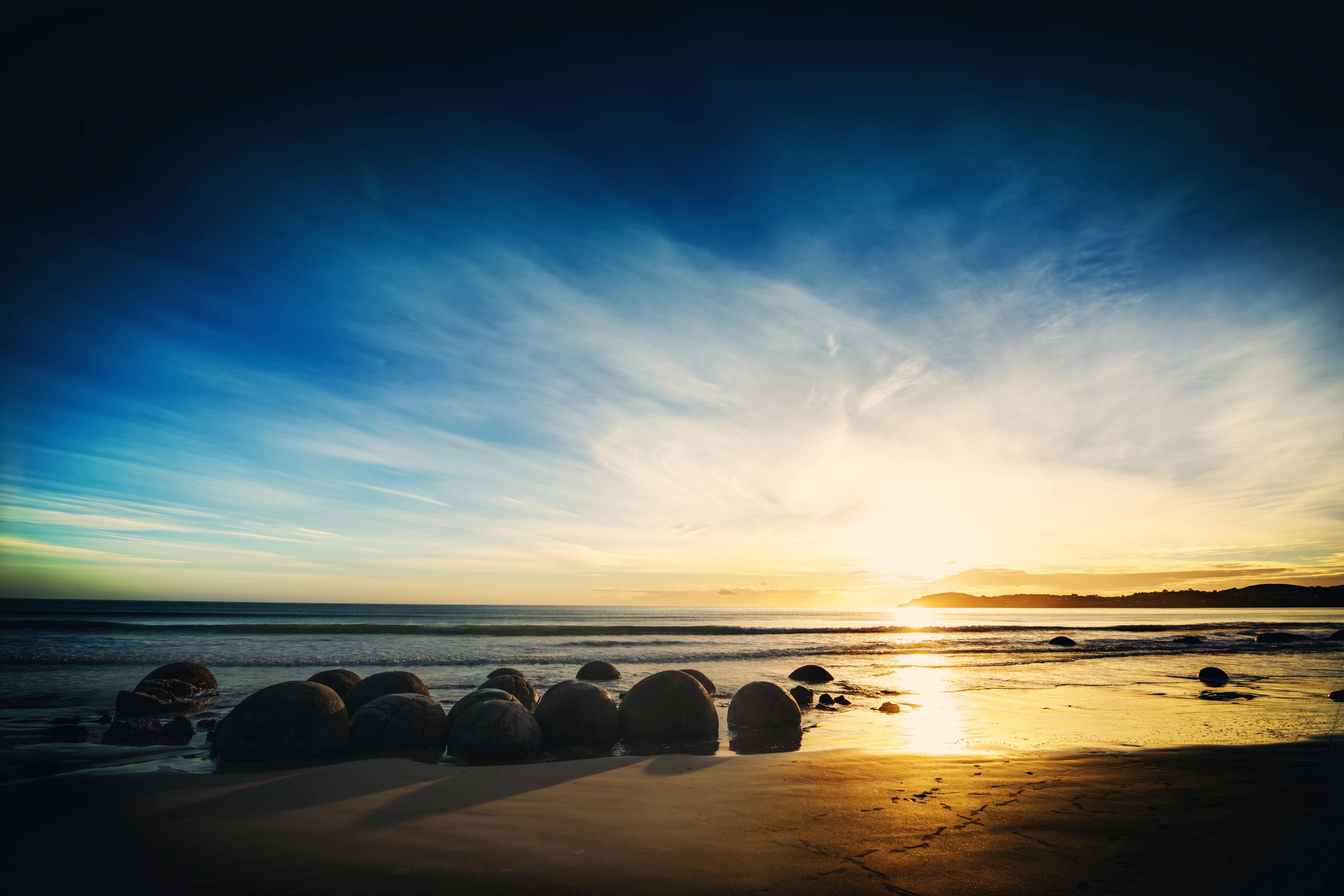 горизонт камни море вода океан природа  № 2556179 без смс