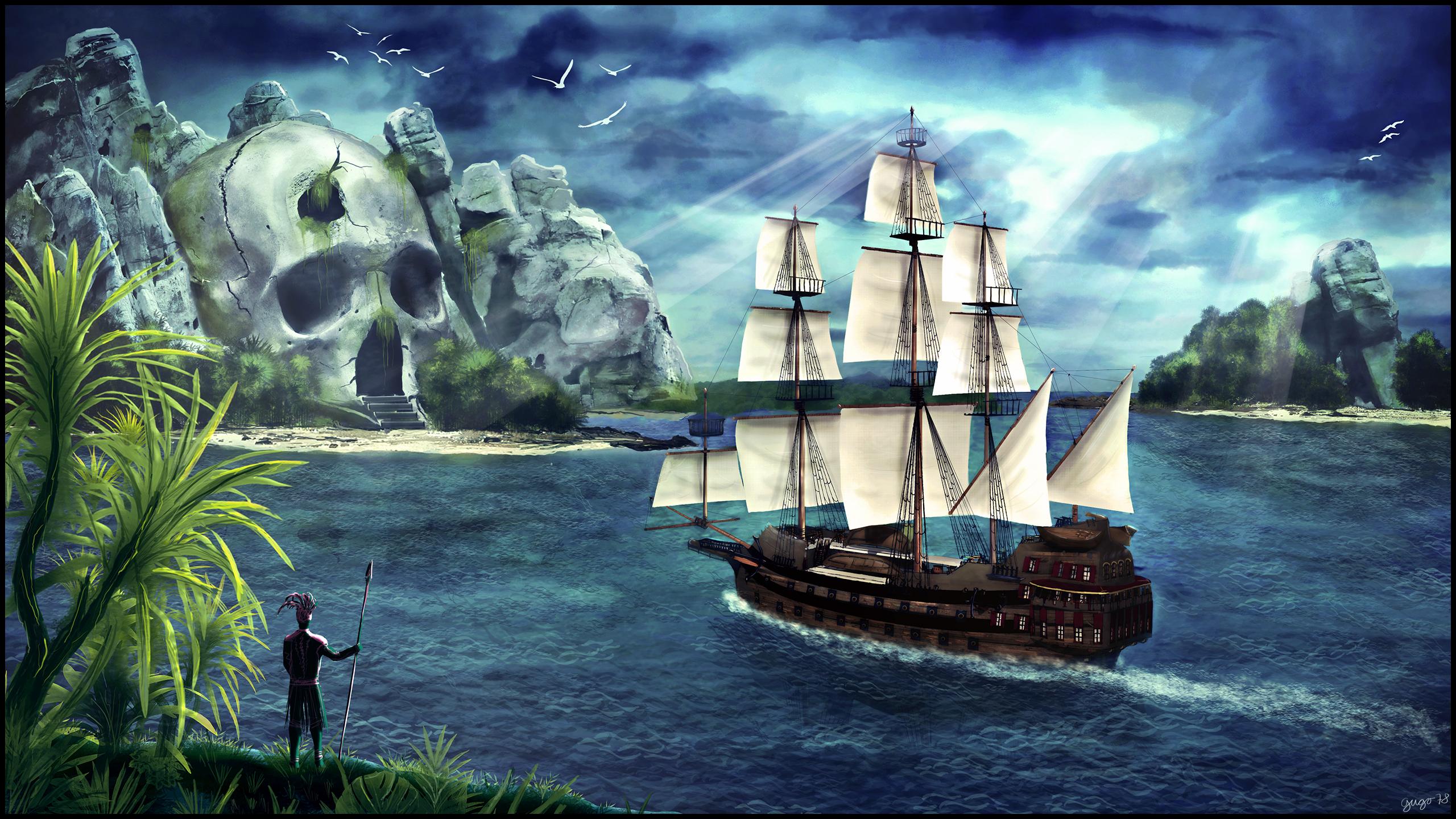 пираты карибского моря 5 обои на рабочий стол 1280х1024 № 220599 загрузить