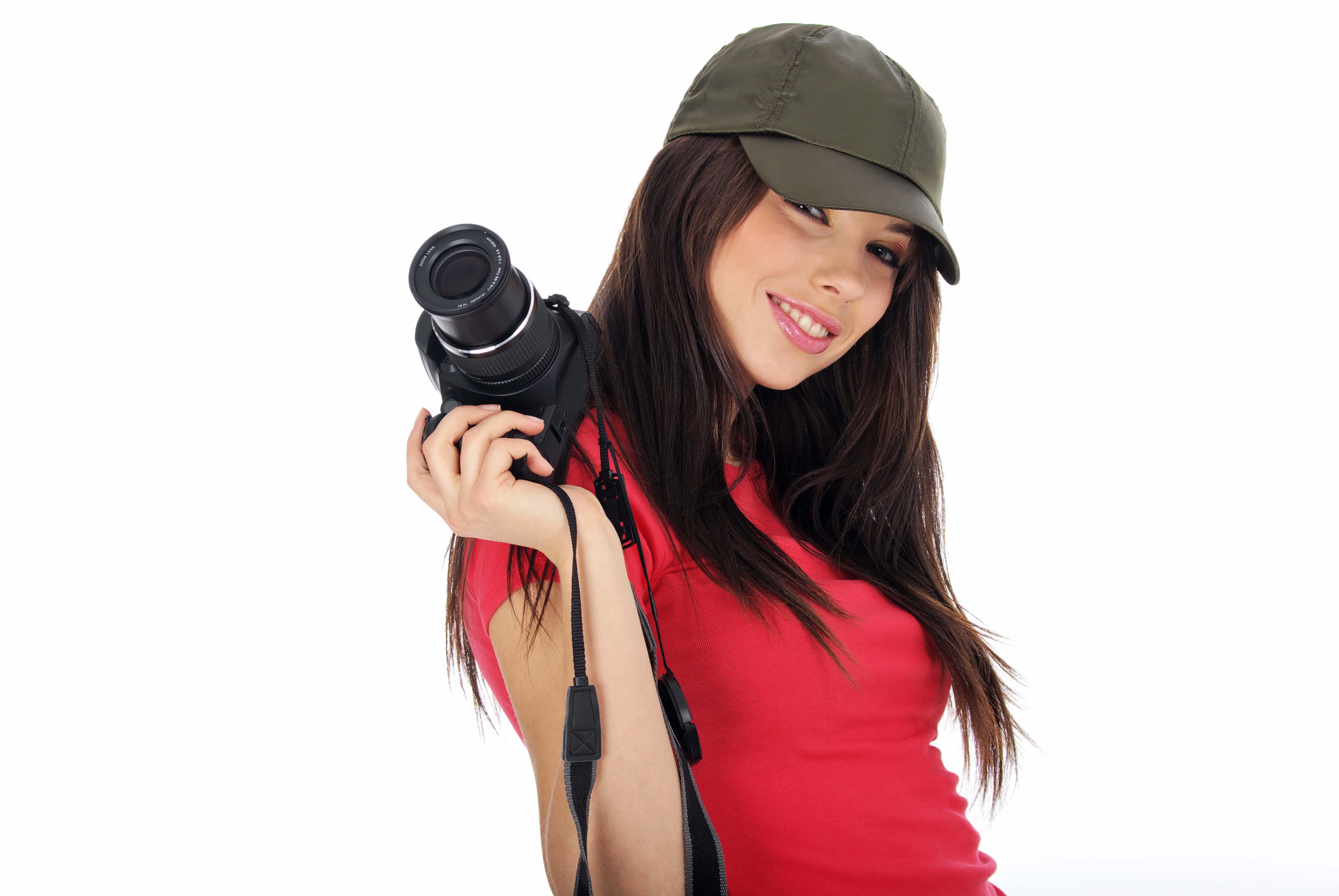 Фото брюнеток в кепке 12 фотография