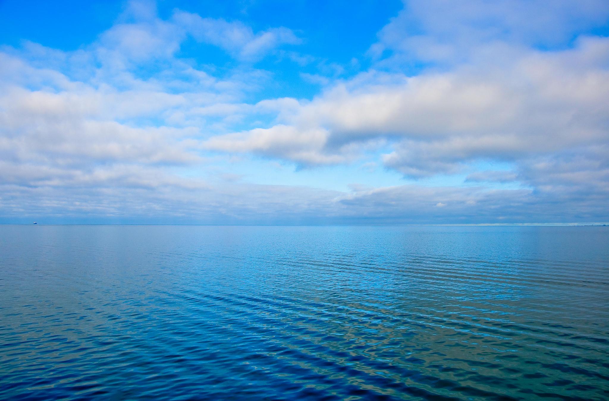 природа горизонт облака небо море nature horizon clouds the sky sea  № 2761349 загрузить