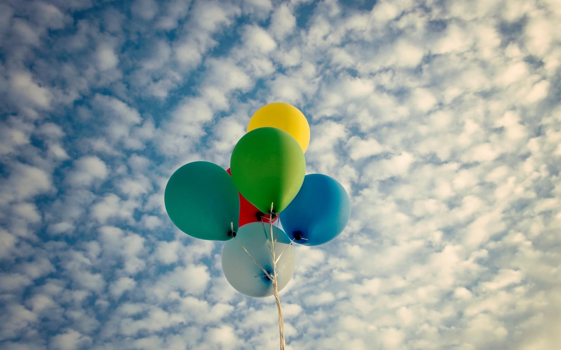 шары небо balls the sky  № 1008136 загрузить