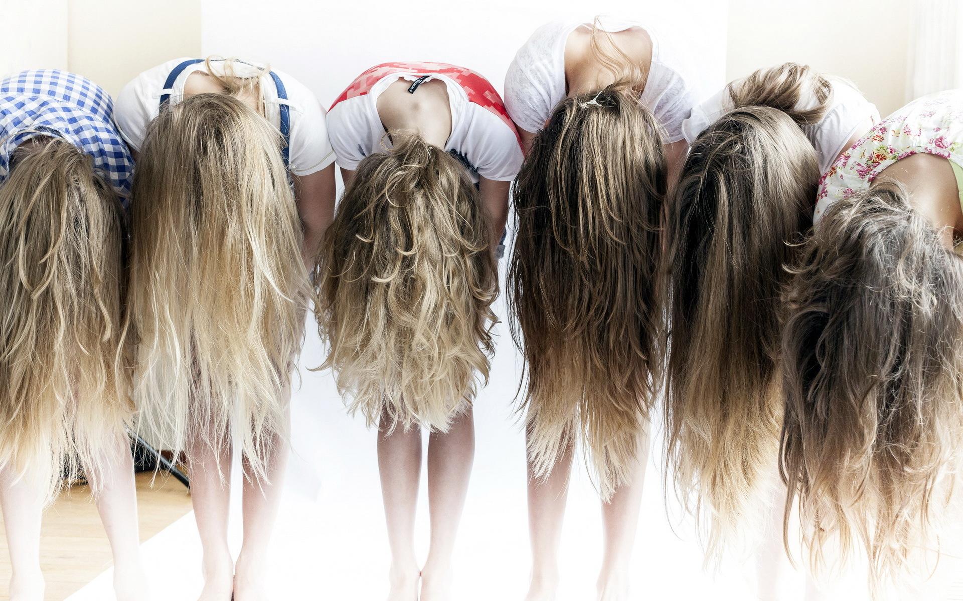Фото девушки русые со спины 20 фотография
