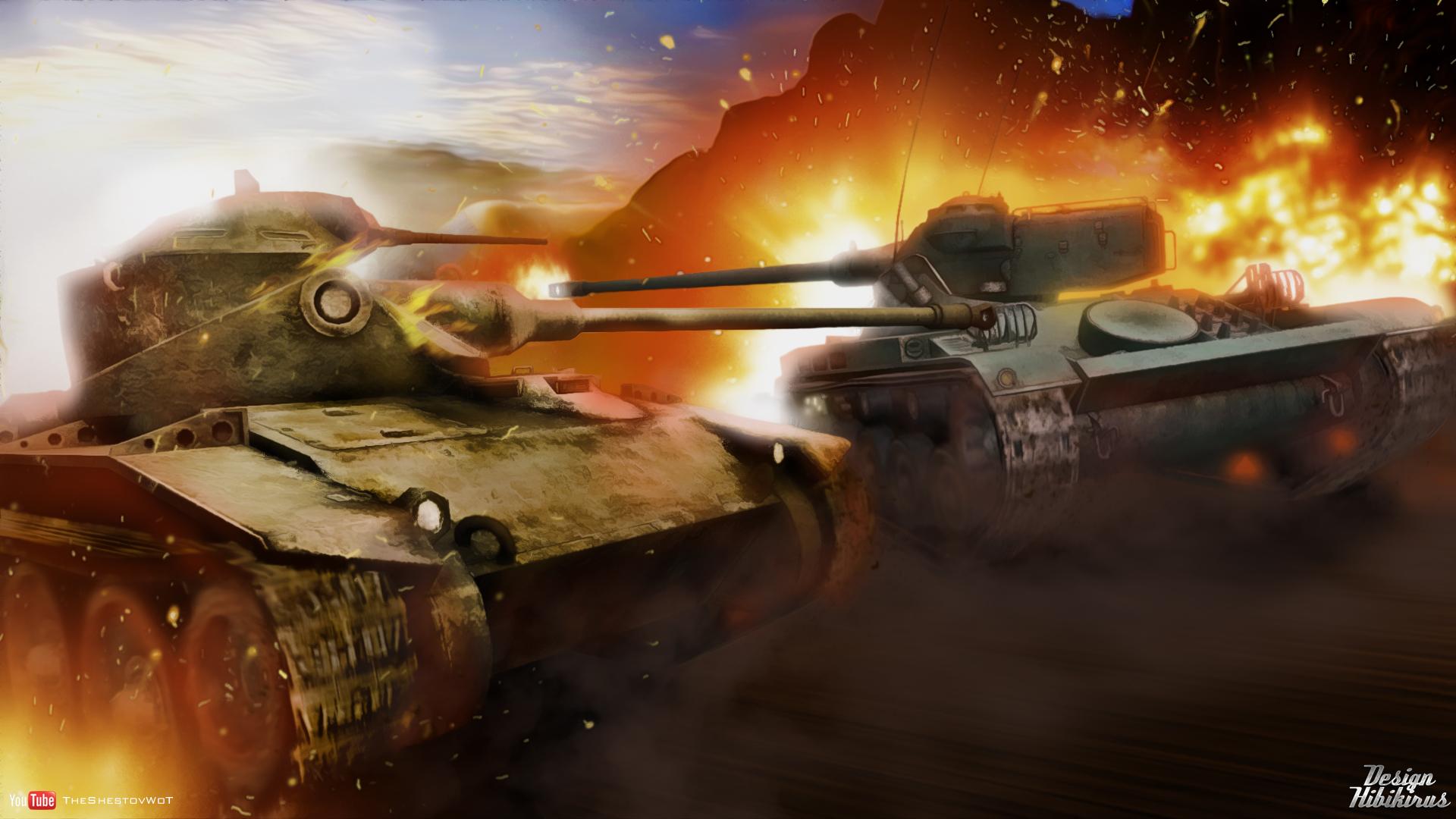 живые обои на рабочий стол танки world of tanks № 231114 бесплатно