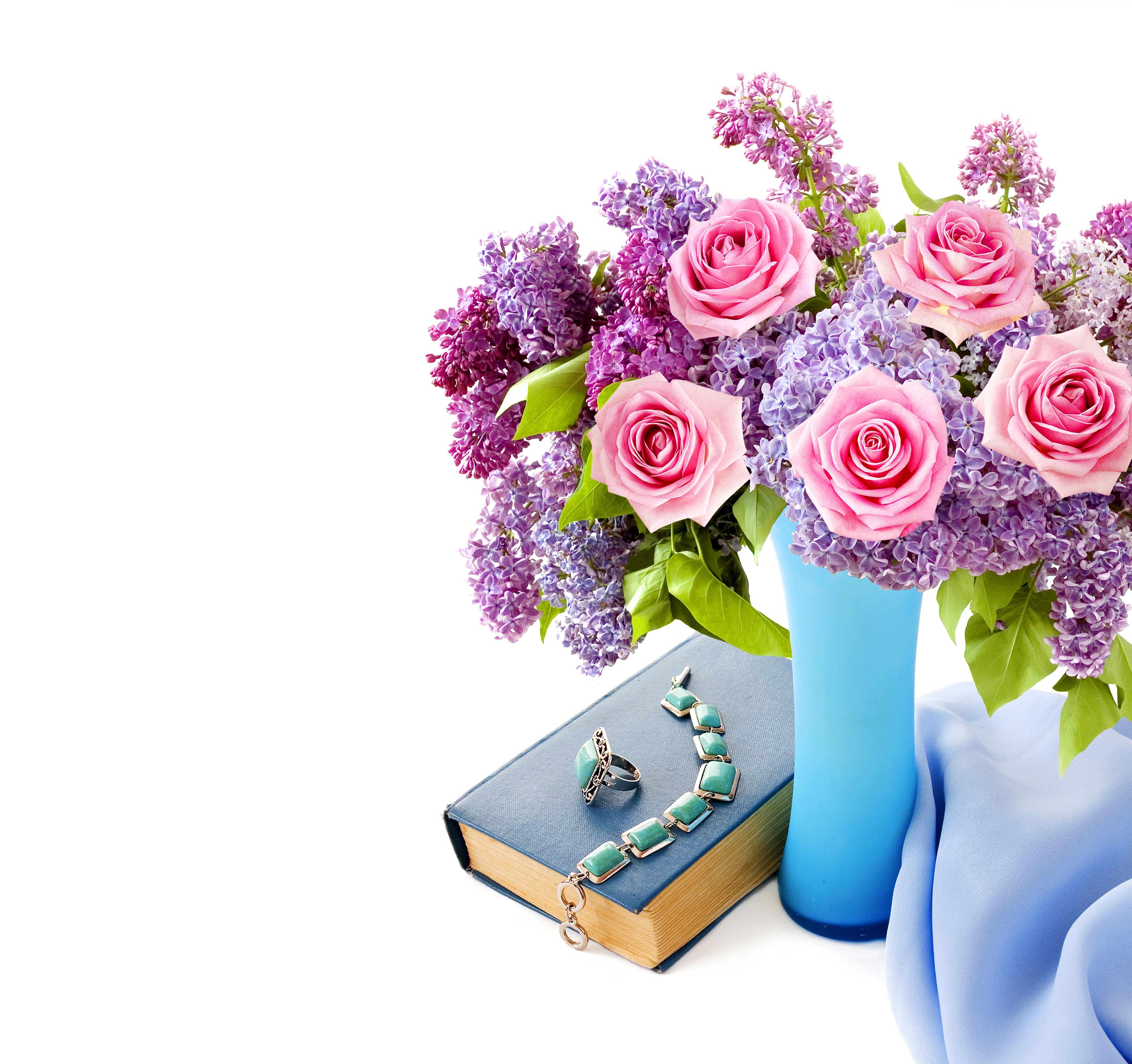 Открытки для цветов и букетов 155