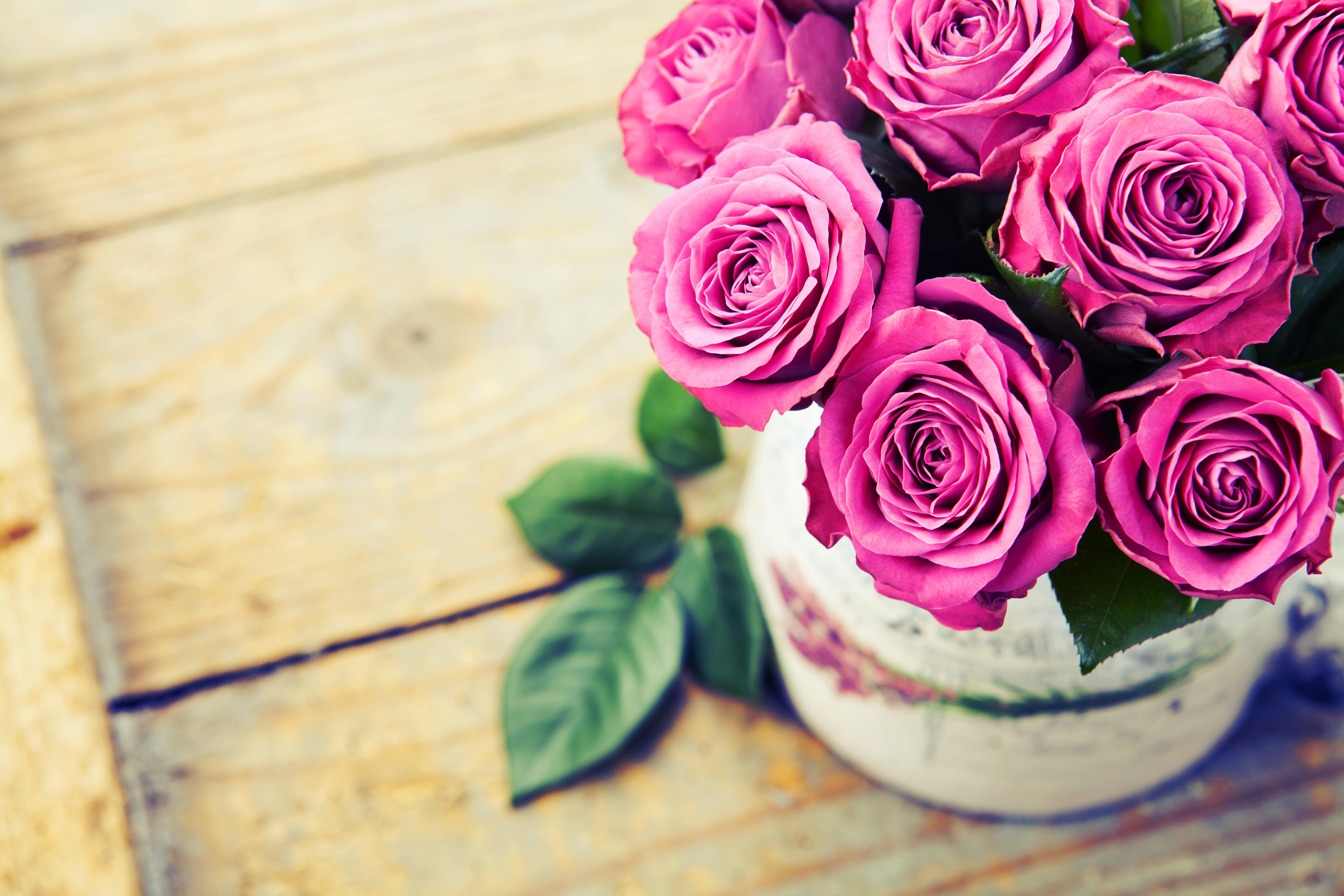 розы цветы ваза  № 1332624 без смс