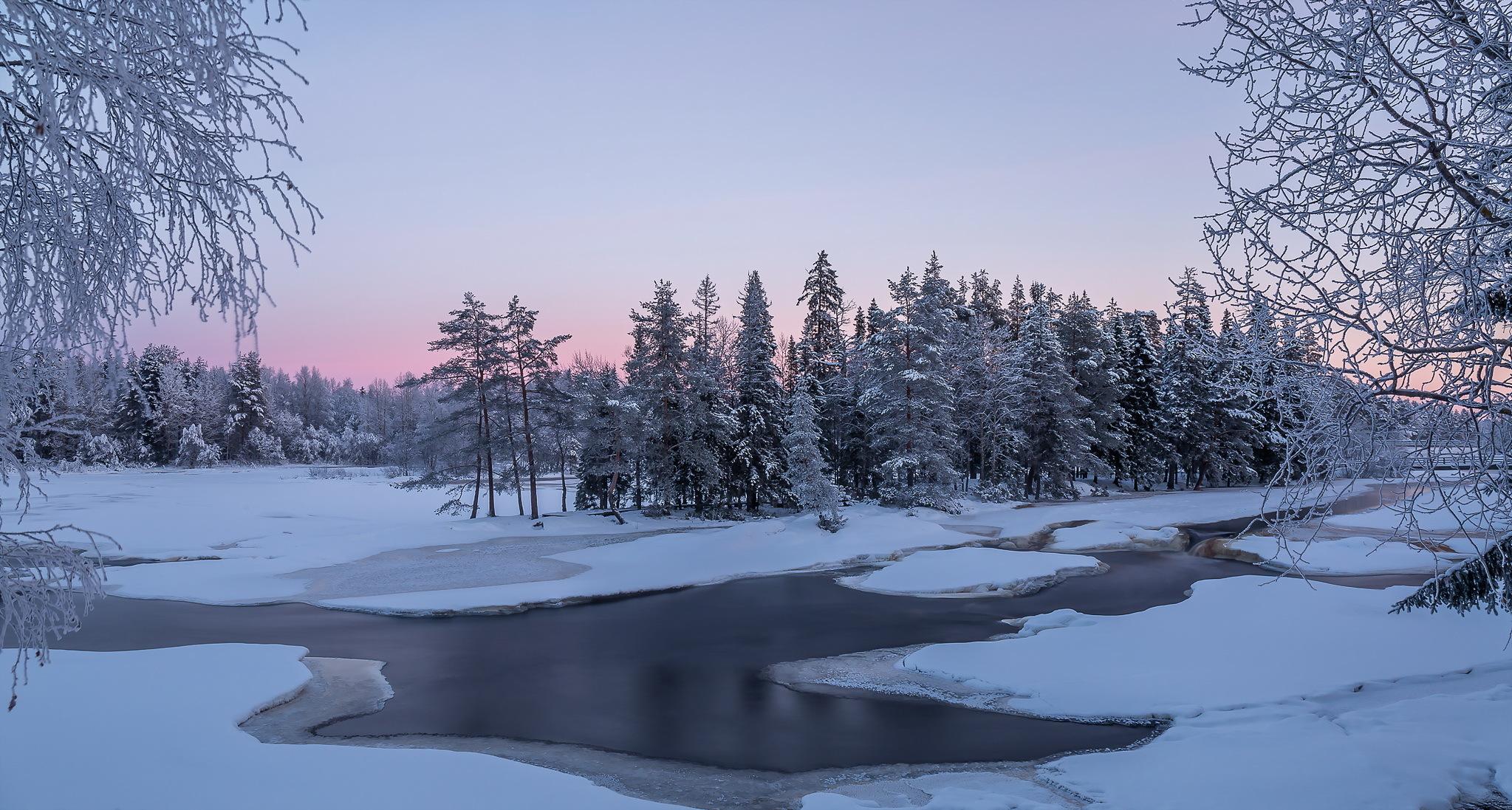 речка мороз зима the river frost winter  № 456334 загрузить