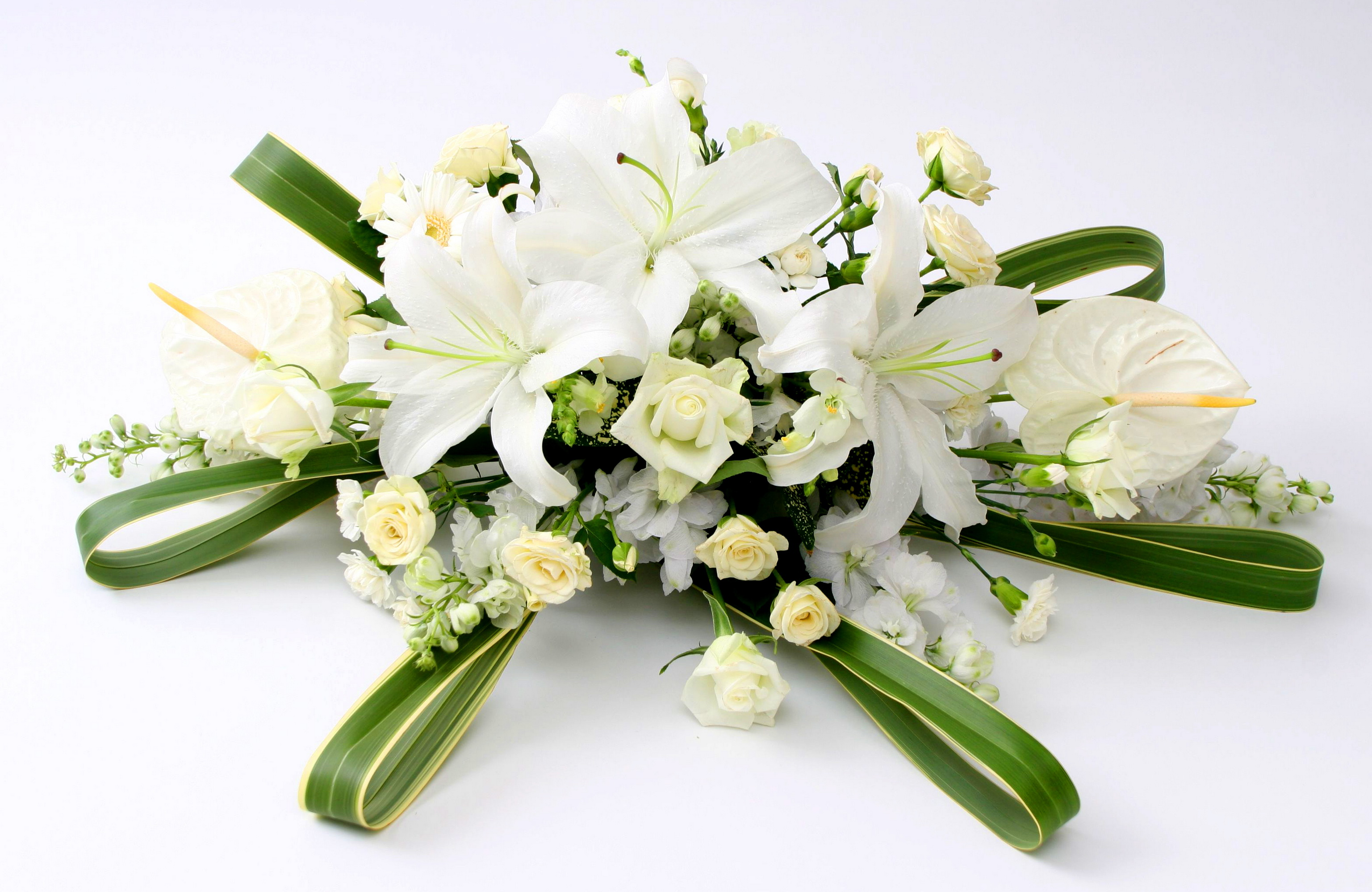 букеты цветов фото лилии: