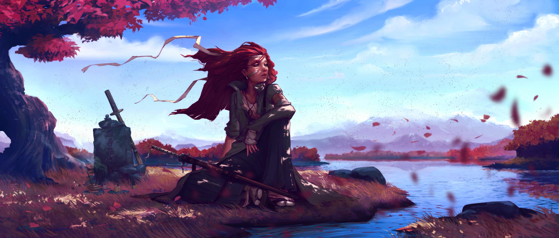 Фото рыжая девушка фэнтези 22 фотография