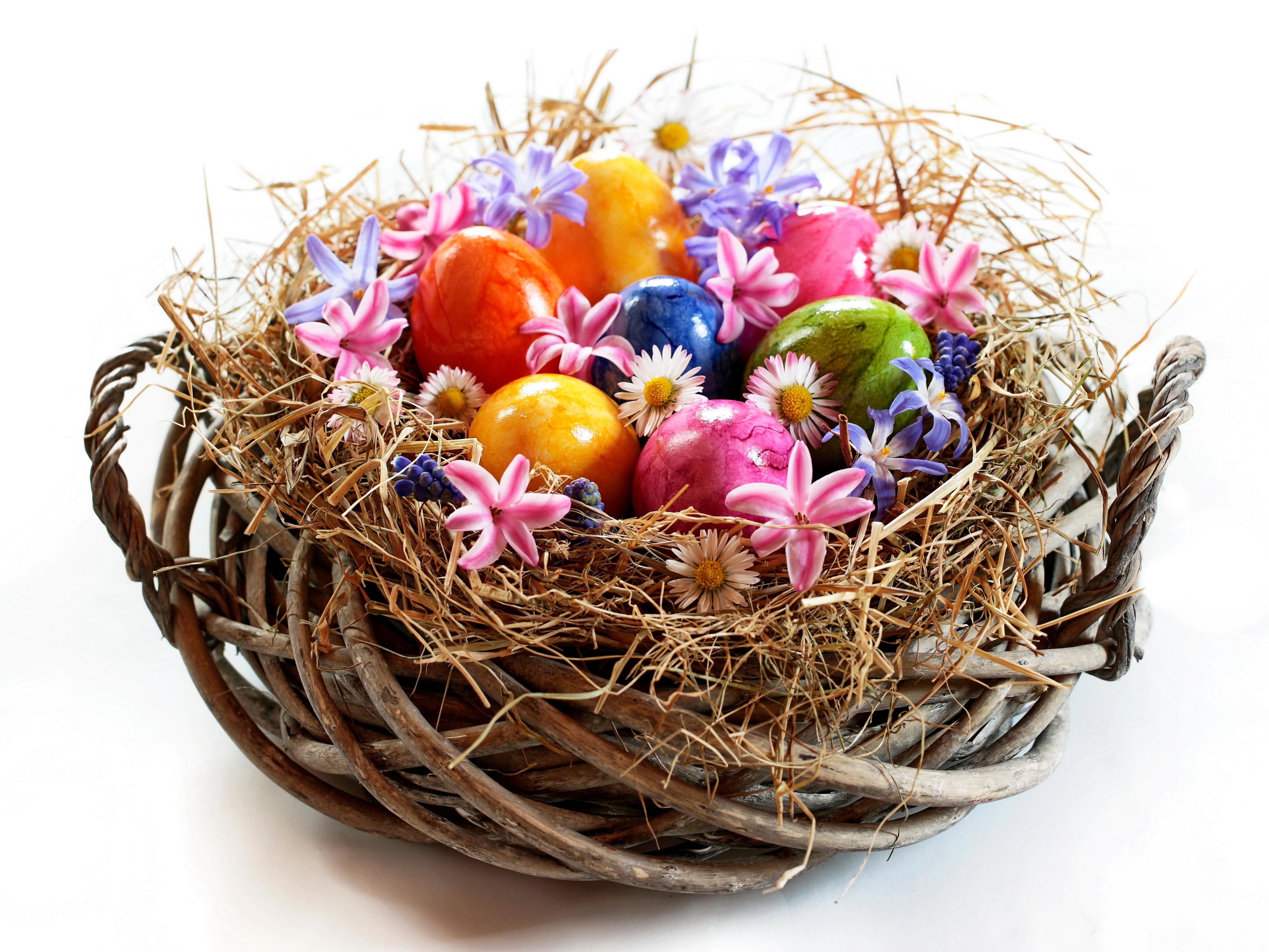 пасха яйца корзина  № 3923000 бесплатно