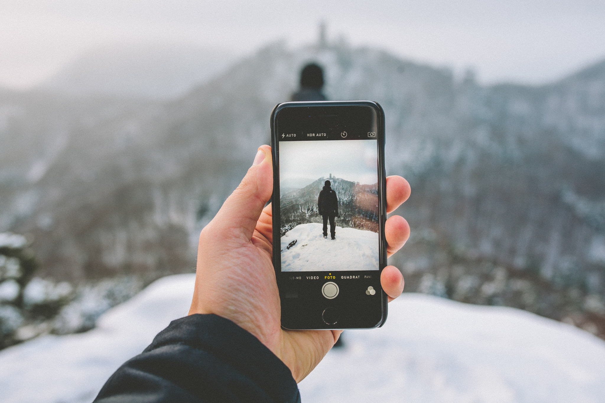 Как делать четкие фото на айфон