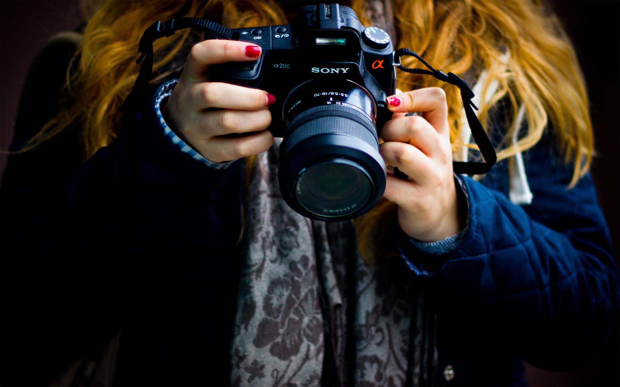 Картинки девушка фотограф