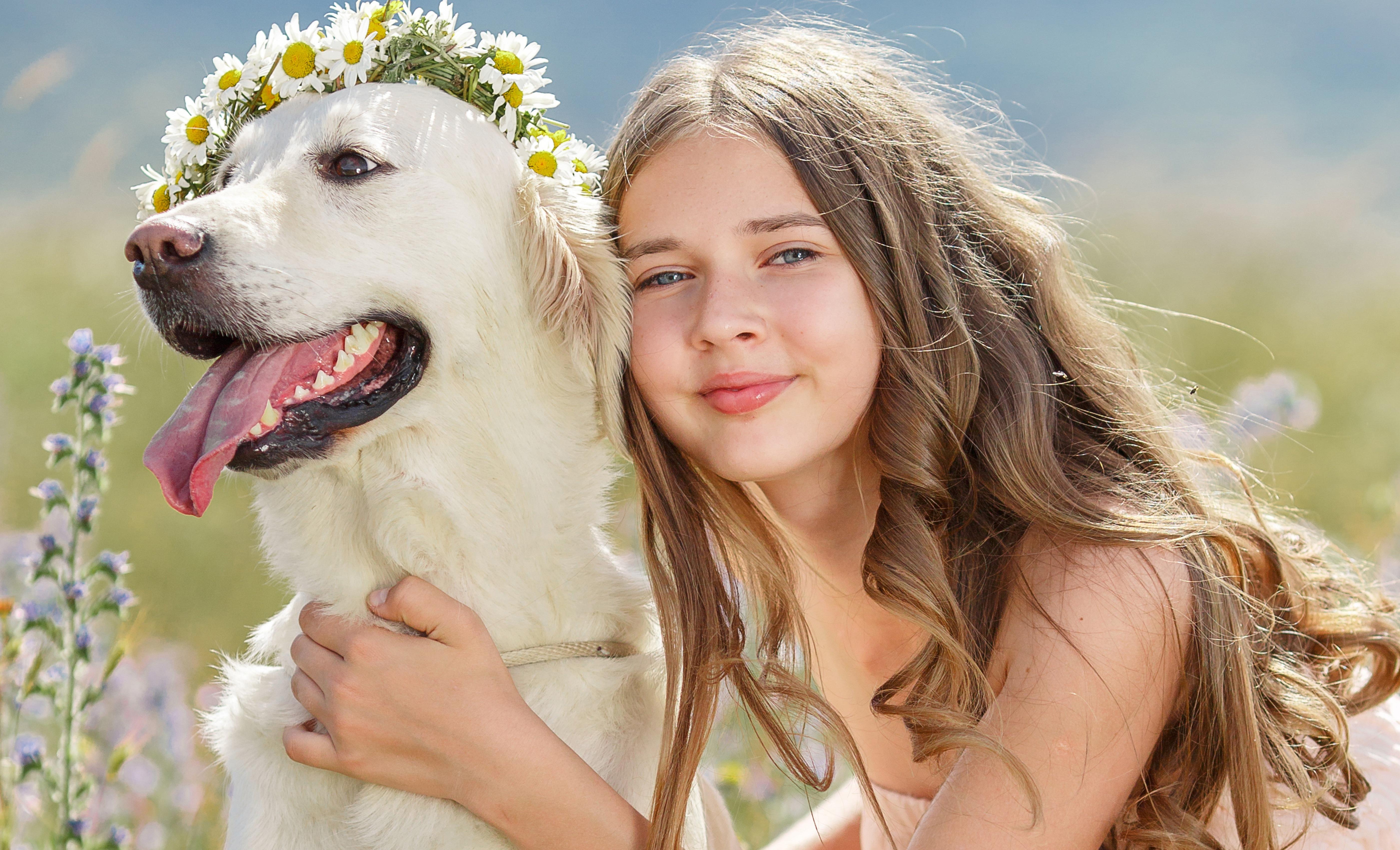 Собака ребенок  № 2980111 бесплатно