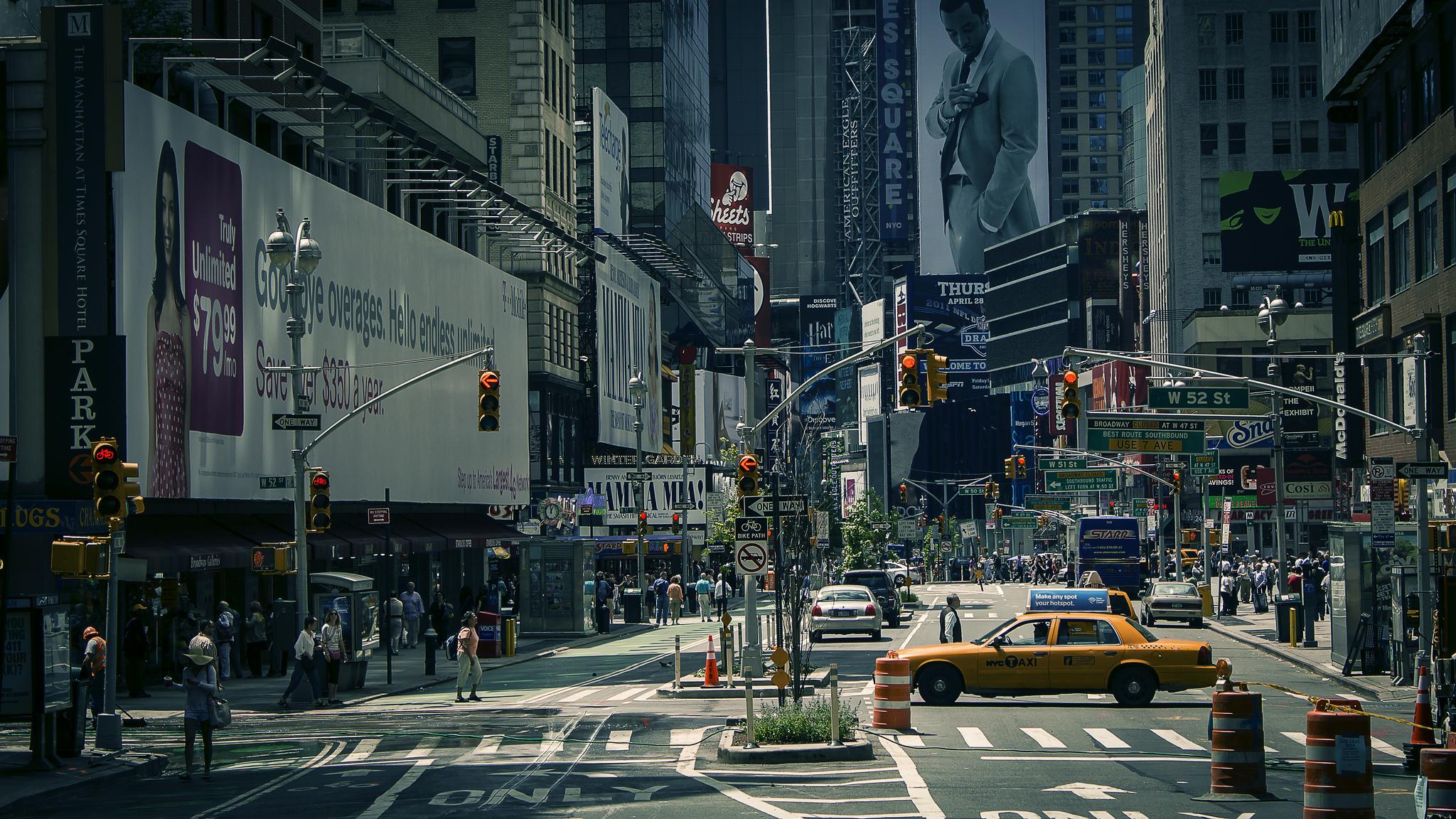 улочка в Нью-Йорке  № 1431589  скачать