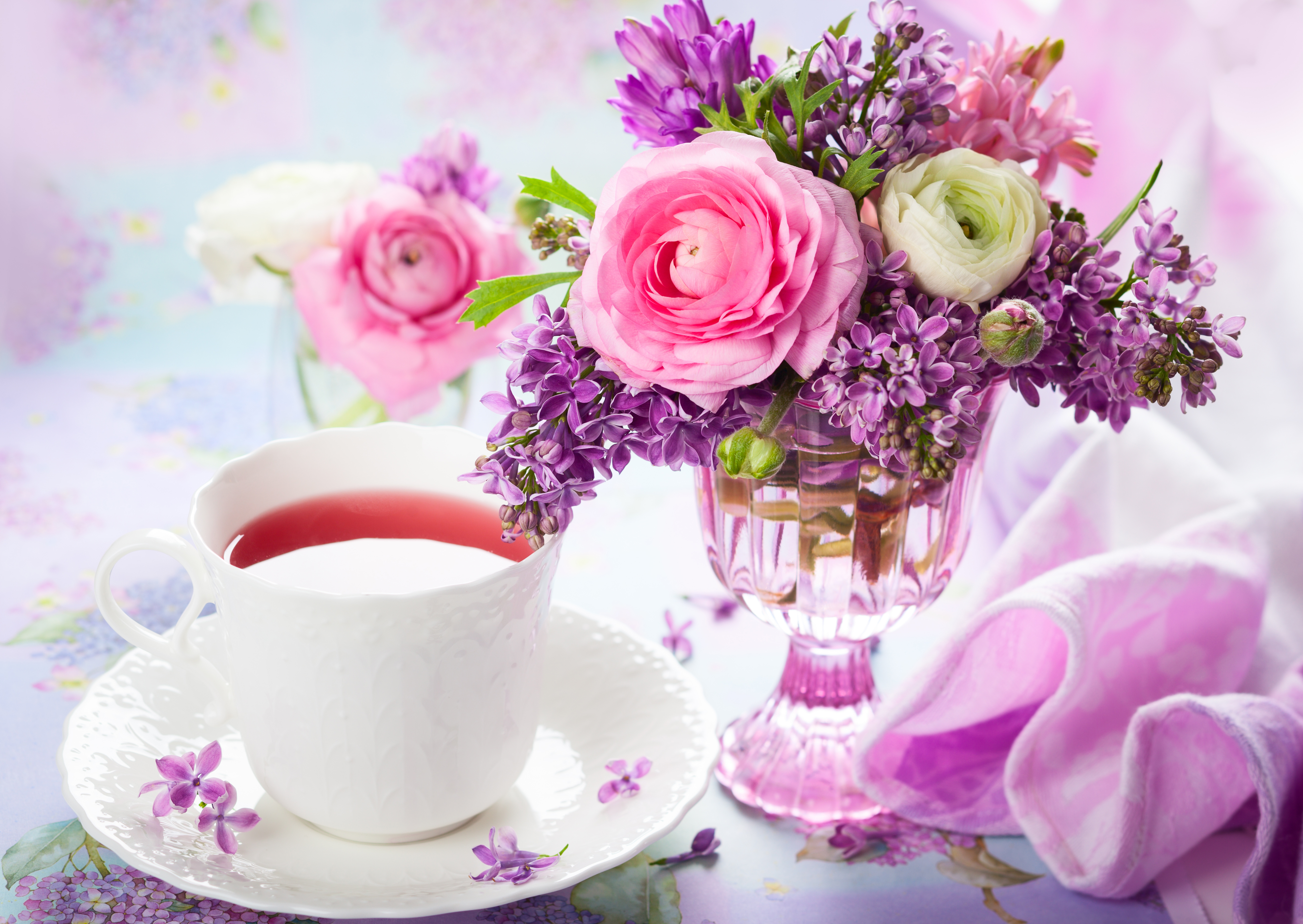 цветы ваза букет посуда flowers vase bouquet dishes  № 1733868 бесплатно