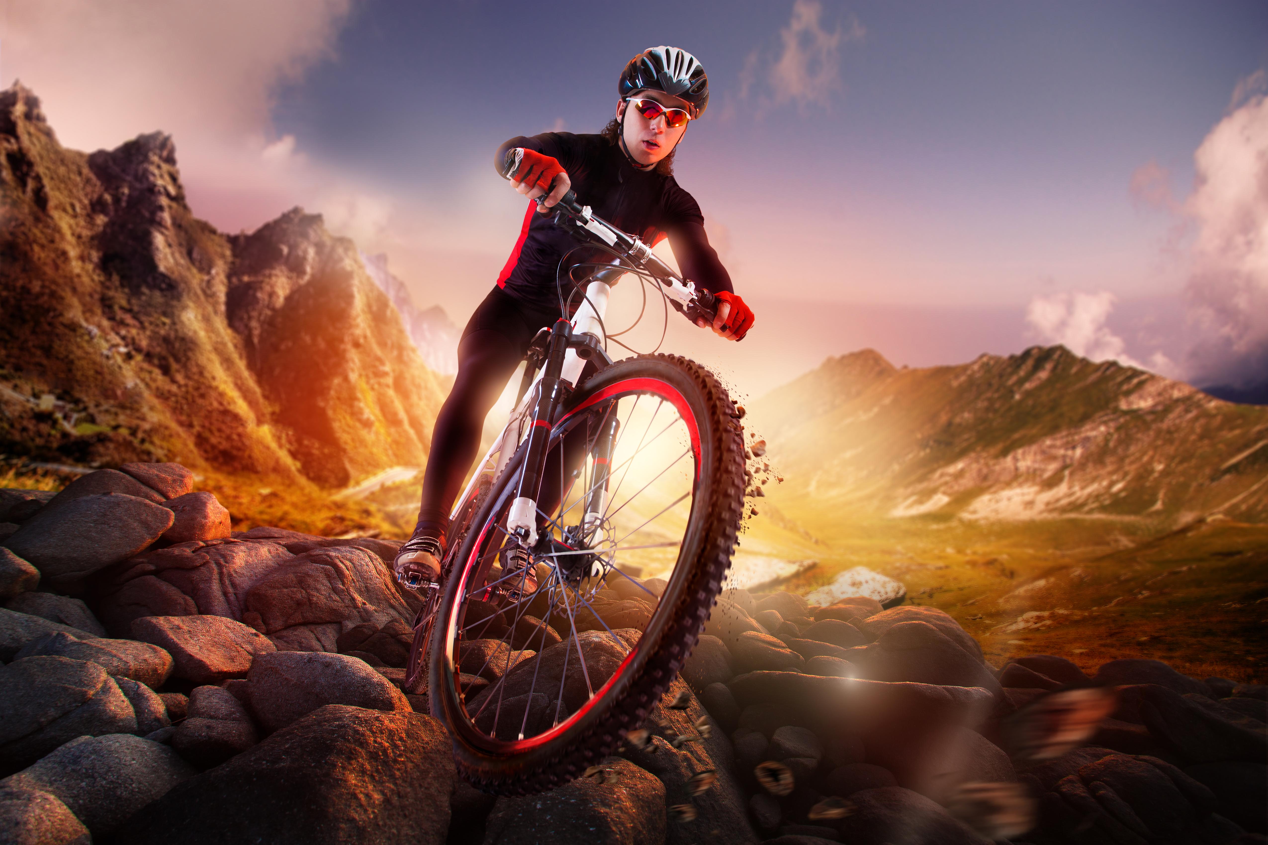 спорт велосипед споротсмен мужчина  № 1633617 бесплатно
