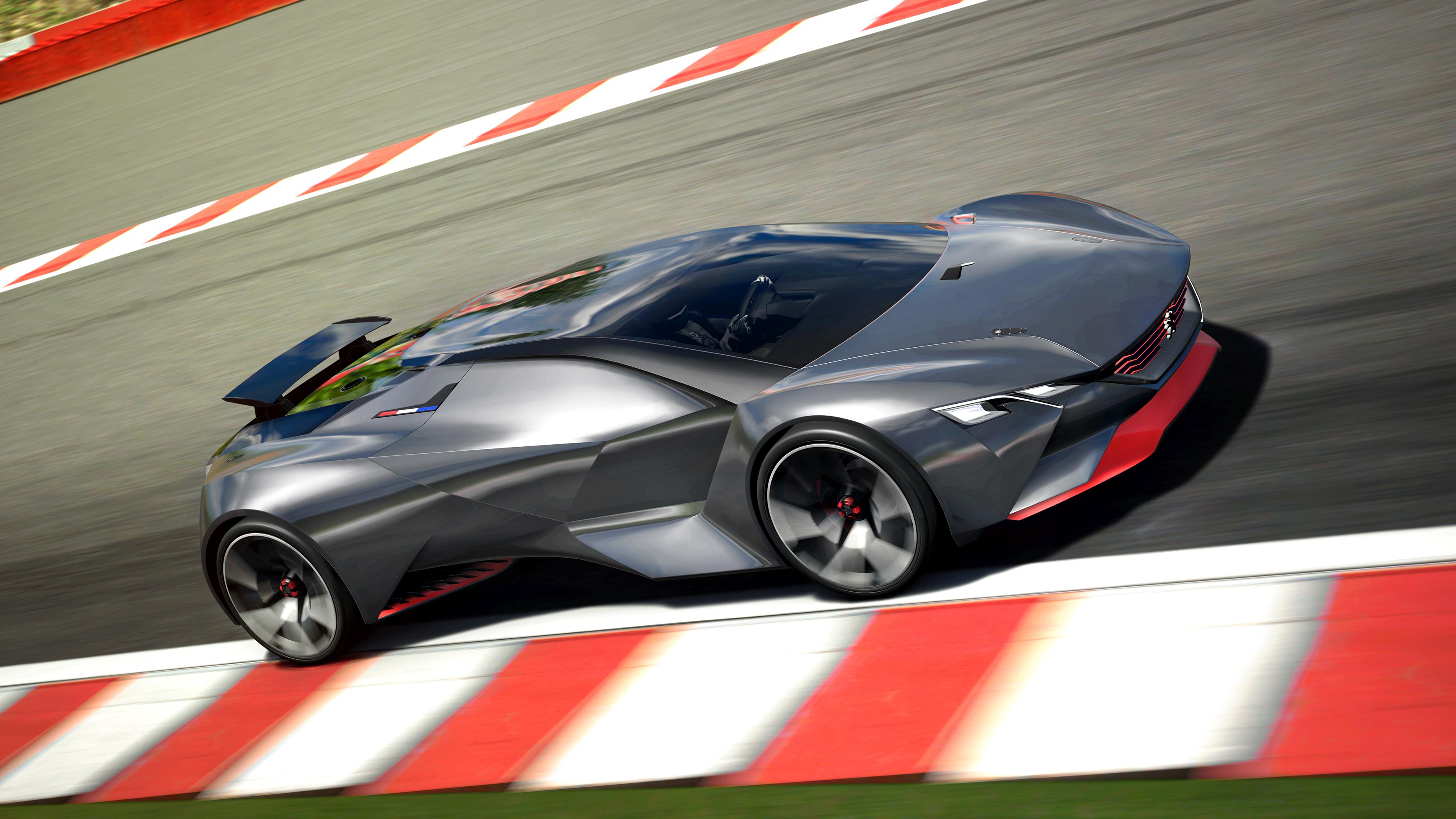 спортивный автомобиль peugeot concept sports car  № 958951  скачать