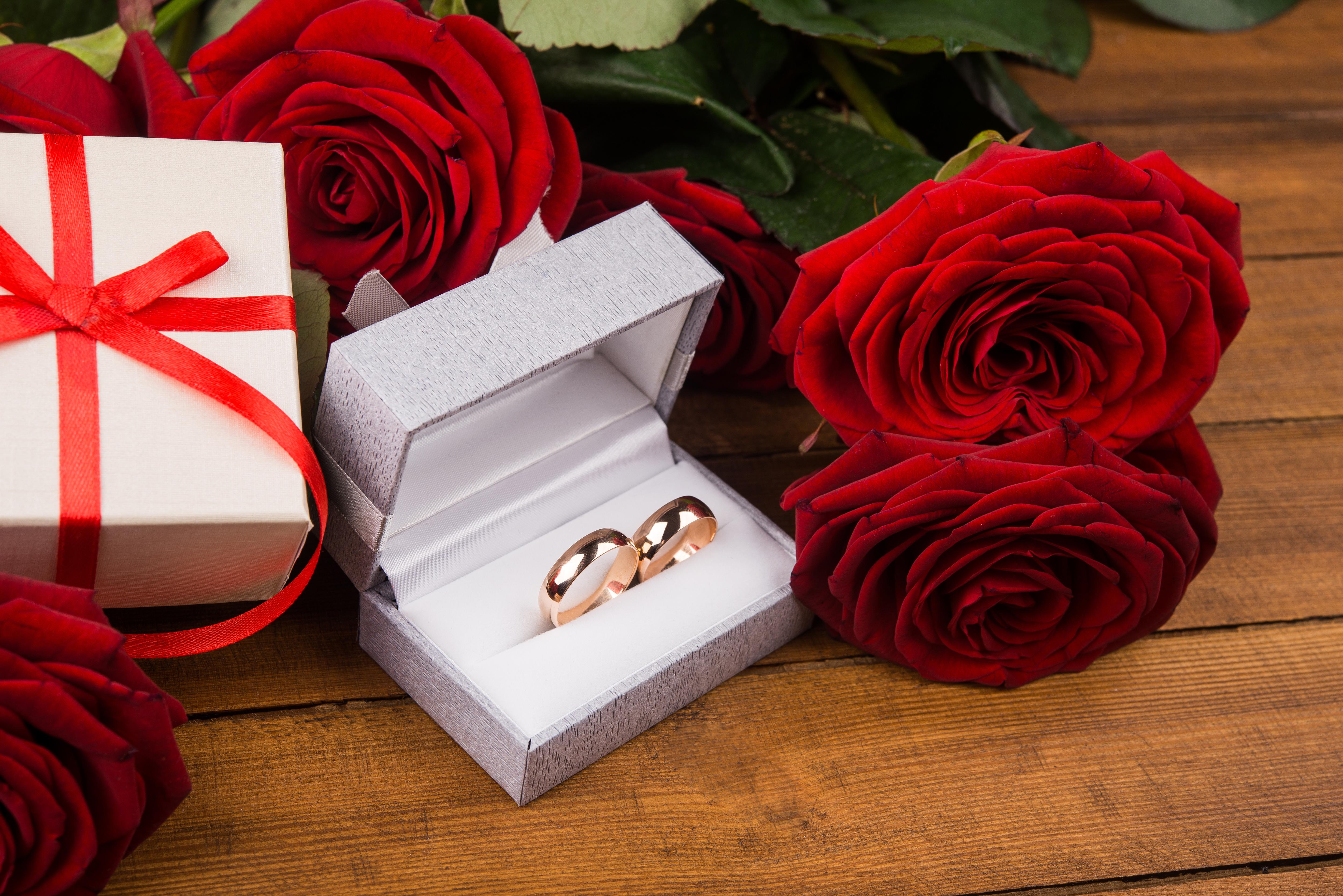 Розы в подарок на свадьбу 14