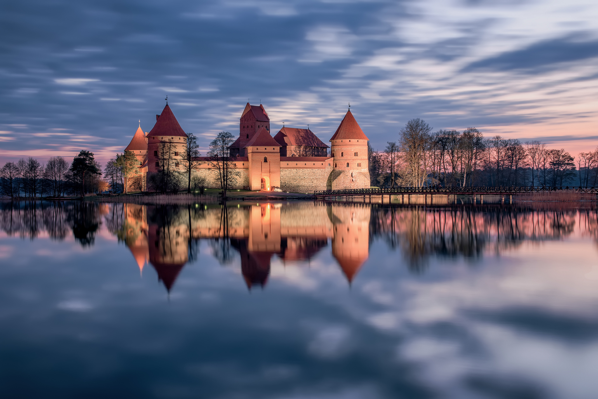 замок на воде  № 158447  скачать