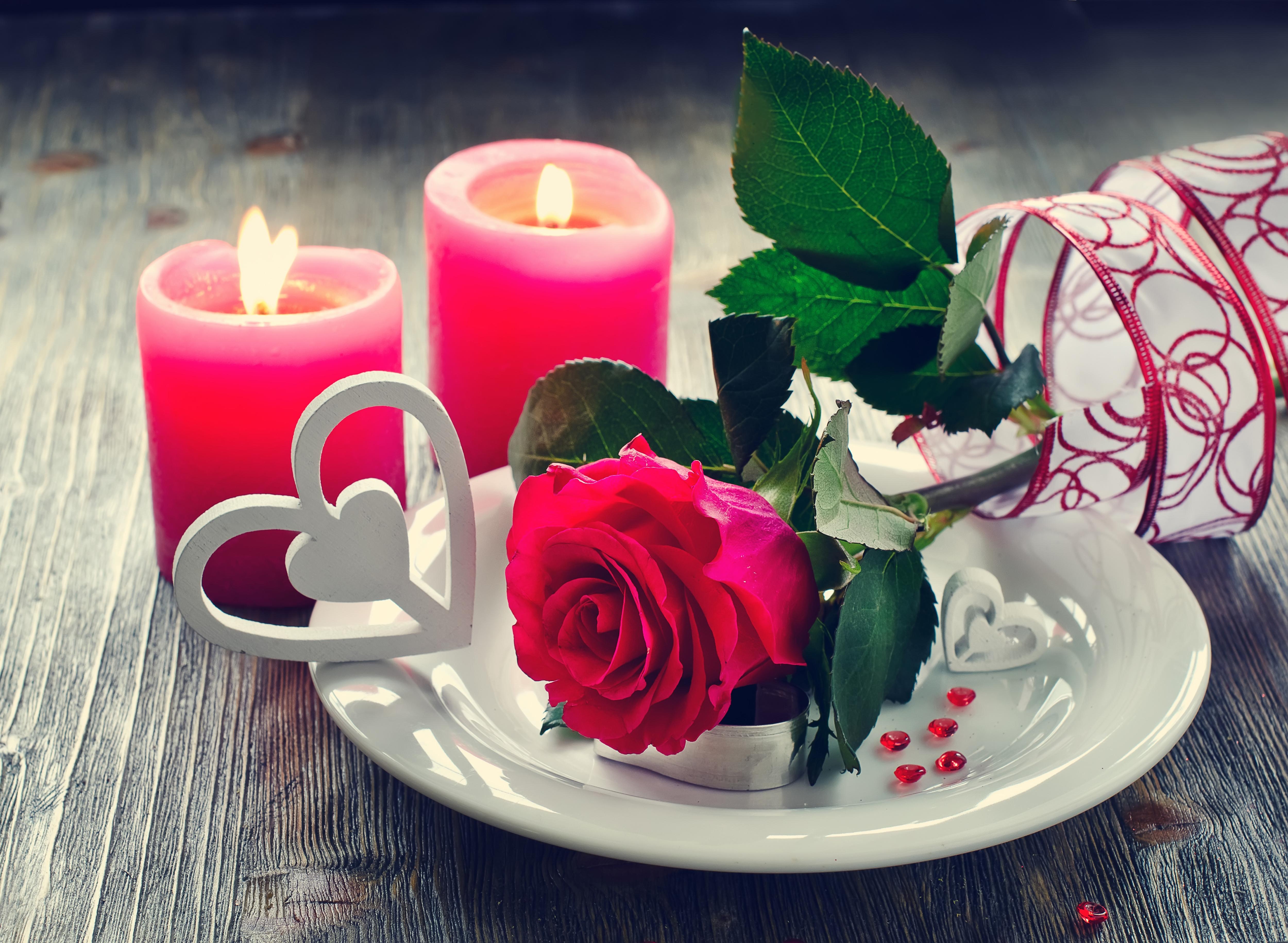 сердце свеча доски  № 3937827 бесплатно