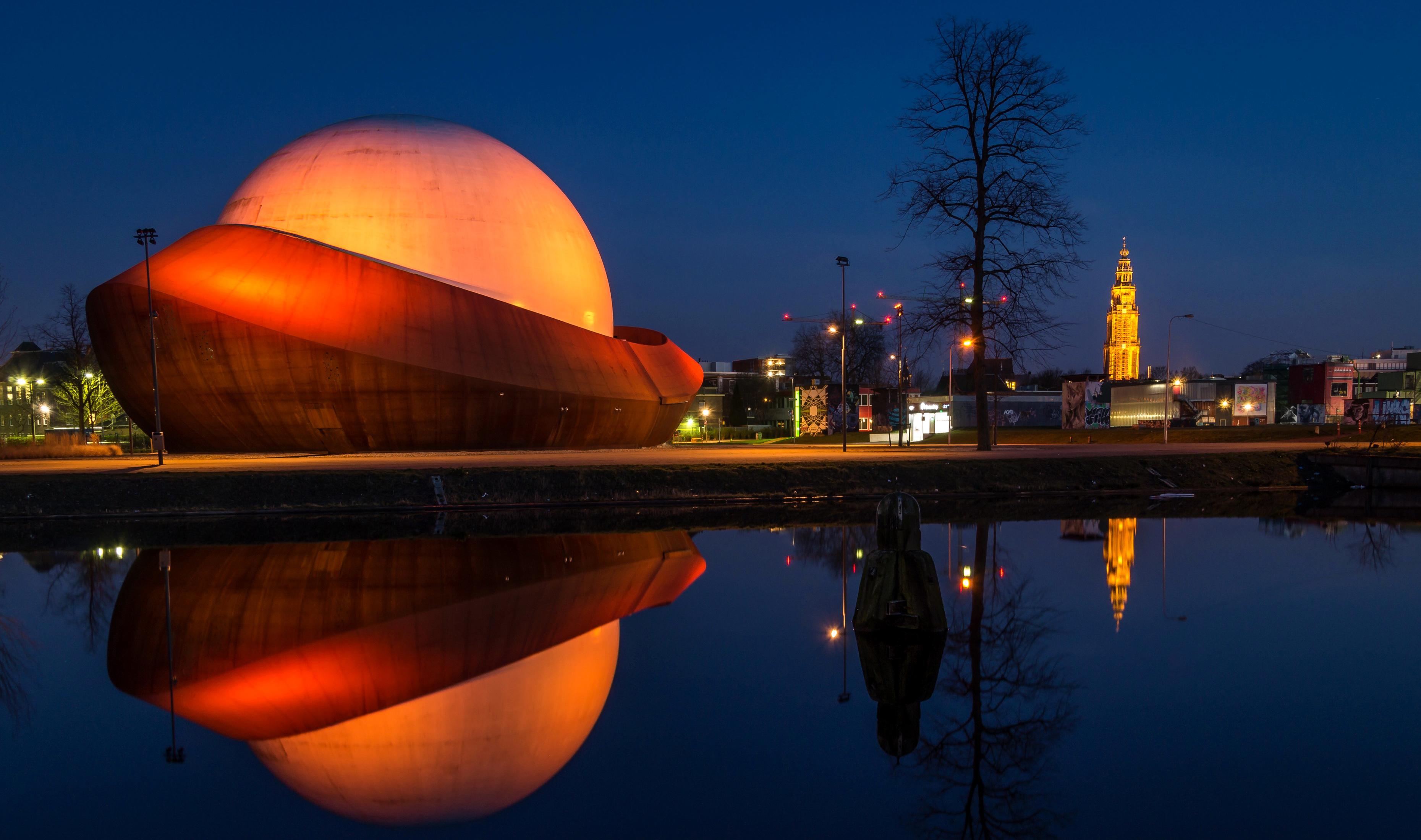 Планетарий в Гронингене