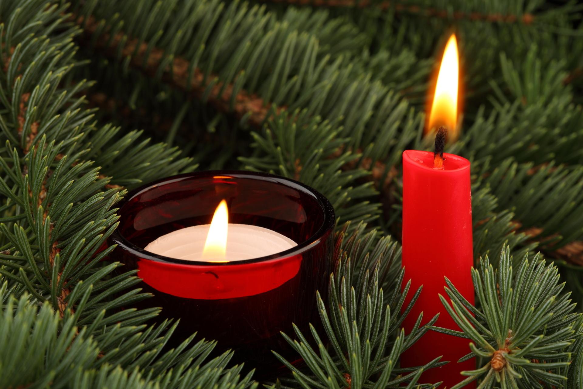 рождество новый год свечи  № 3334070 загрузить