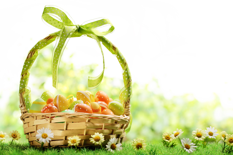 пасха яйца корзина  № 3923024 бесплатно