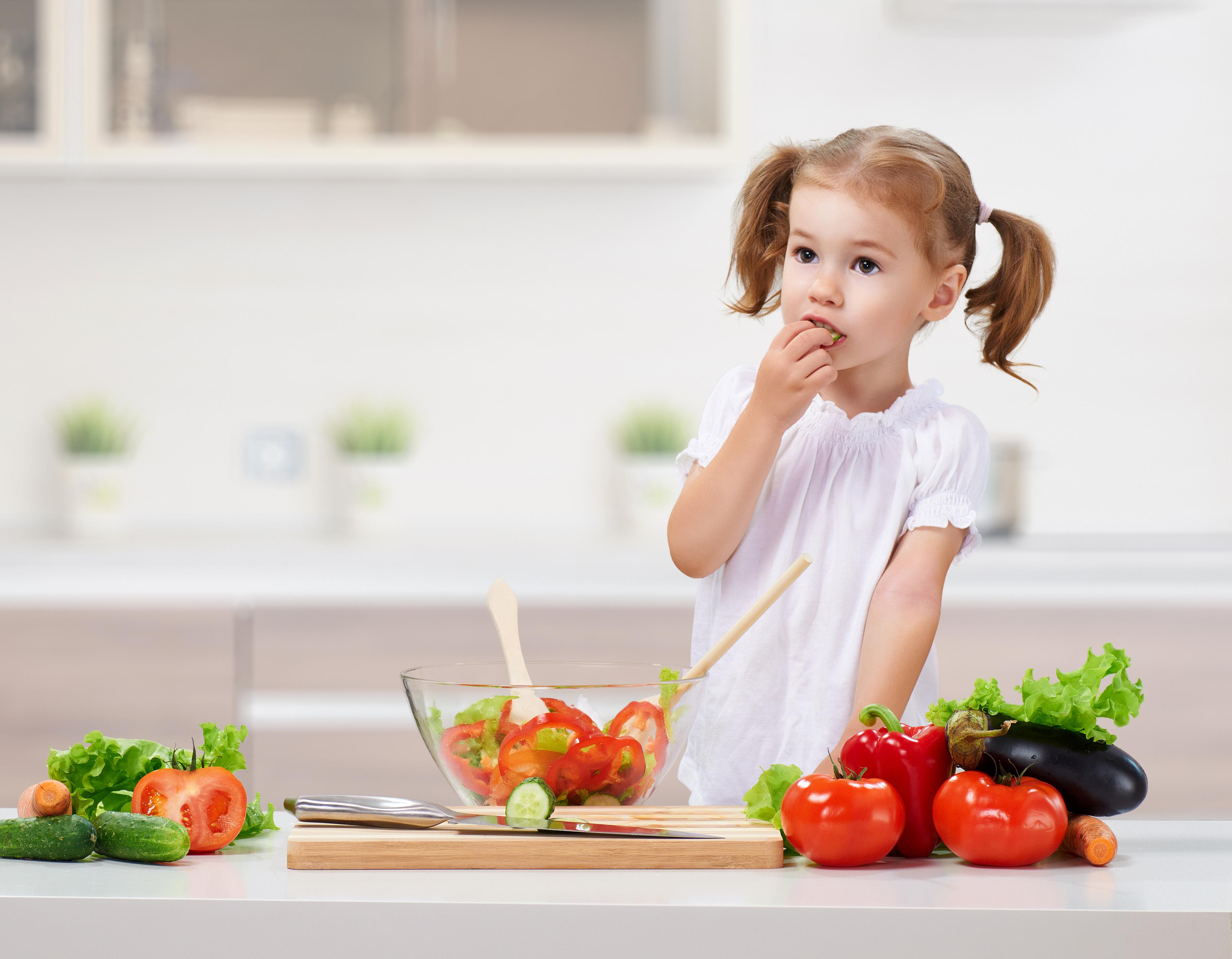 Фото о еде с детьми
