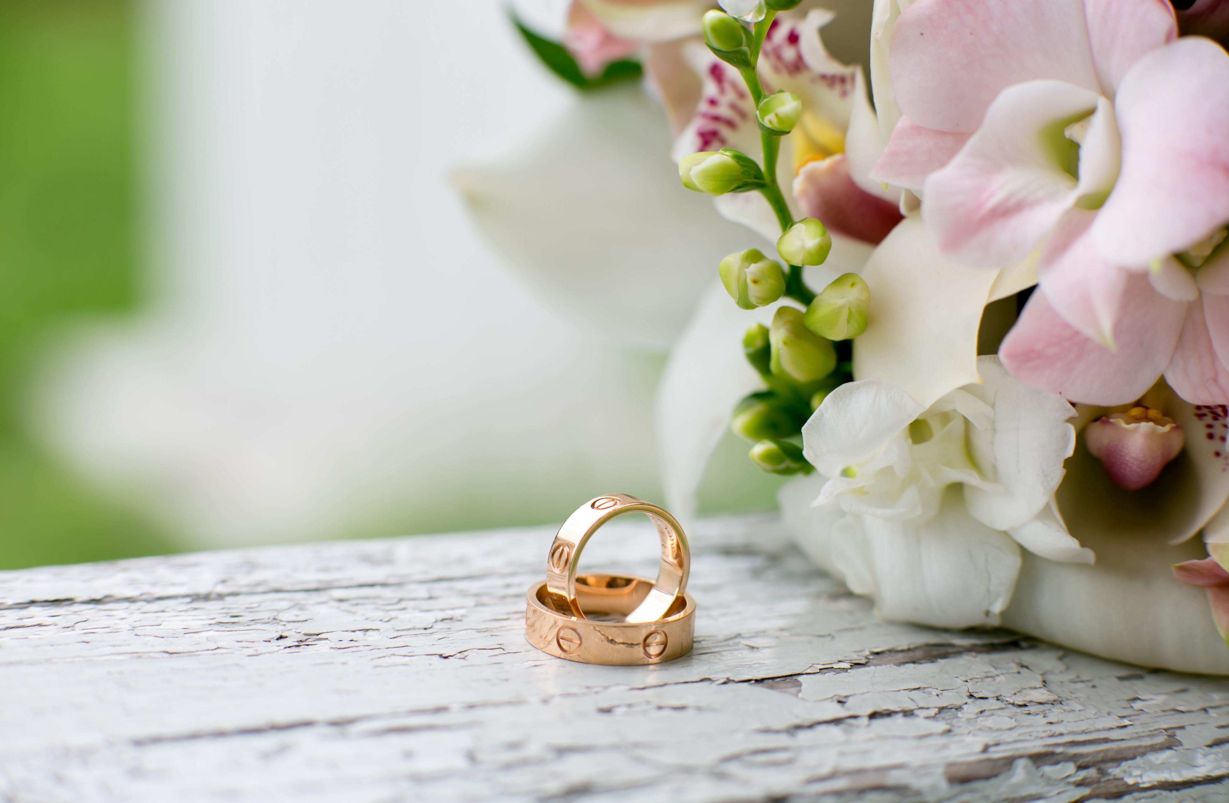 обручальные изысканные кольца  № 631777 бесплатно
