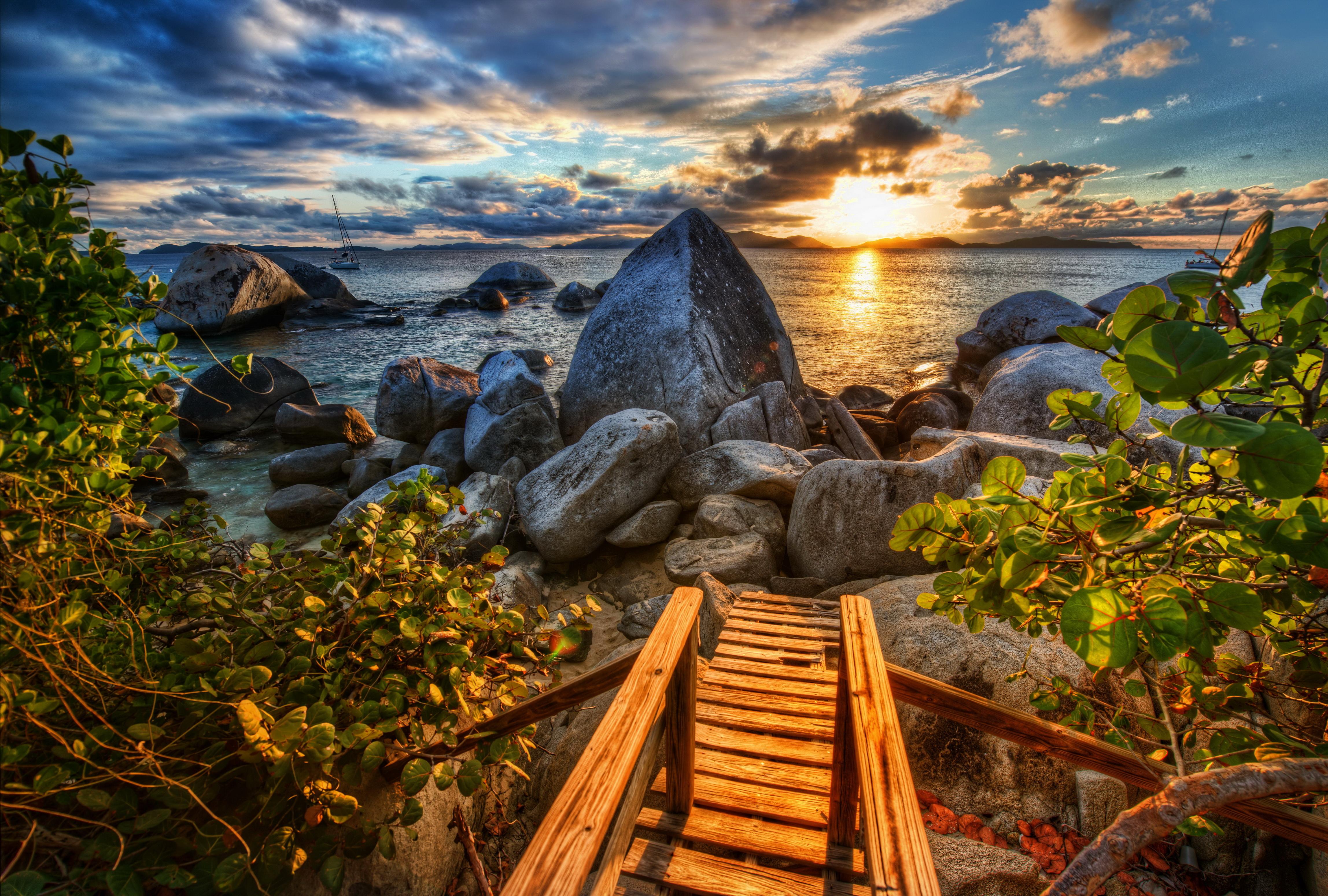 море склон камни  № 1569215 бесплатно