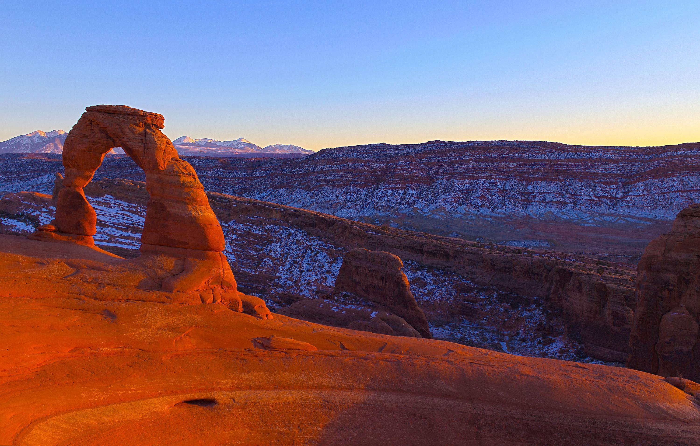 каньон арка небо  № 889046 бесплатно