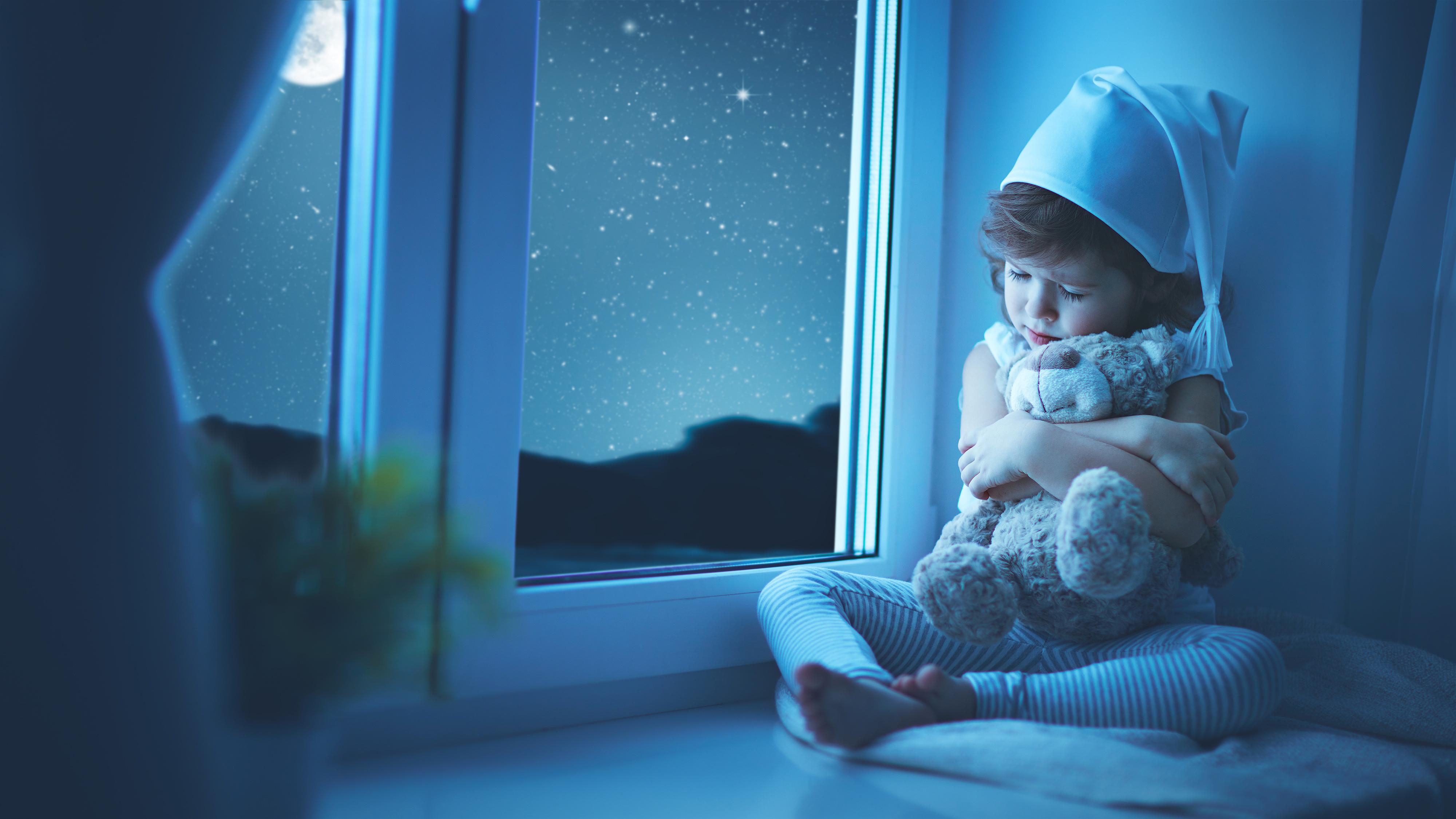 Спокойной ночи фото с детьми