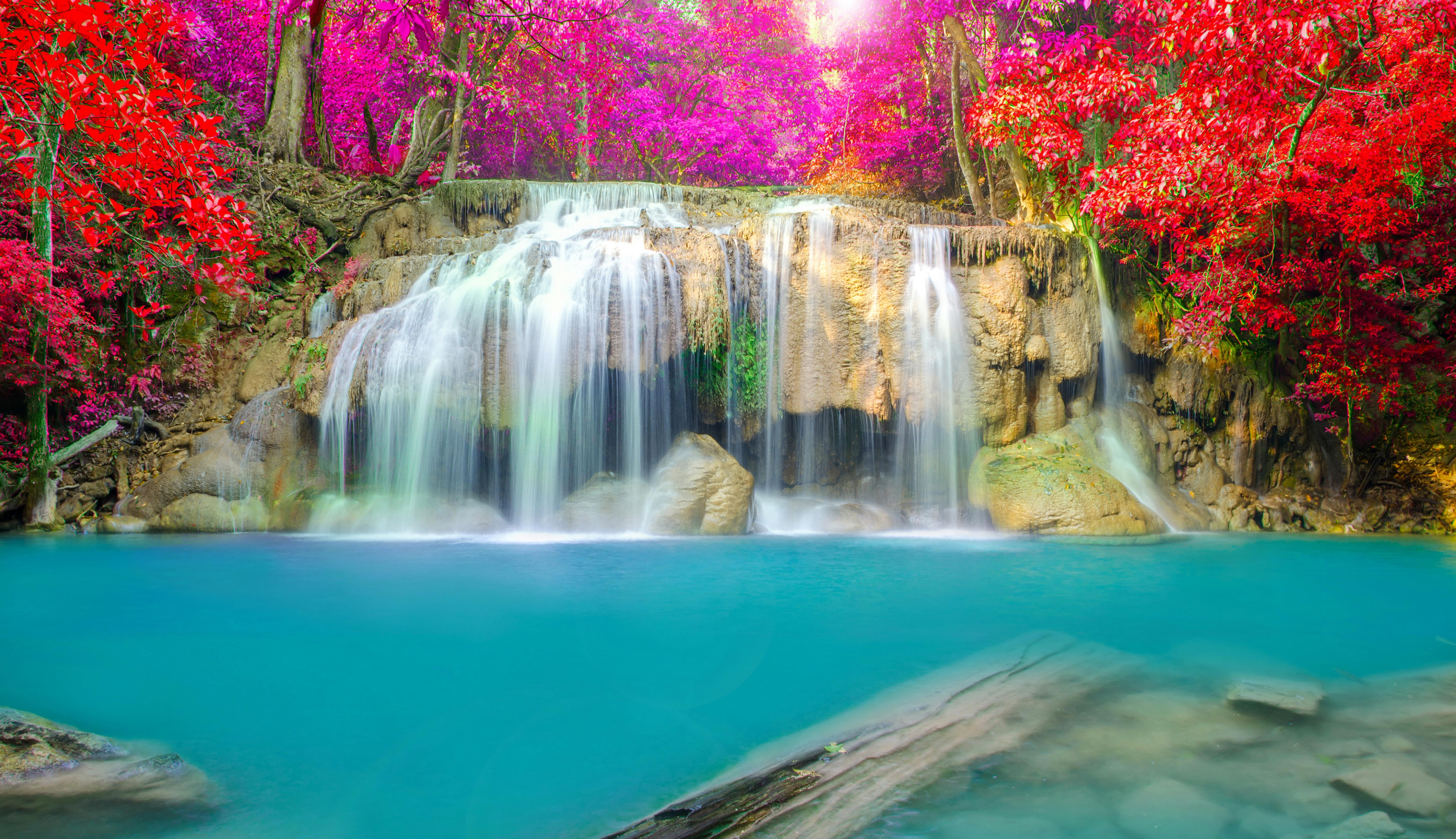 природа водопад  № 394060 бесплатно
