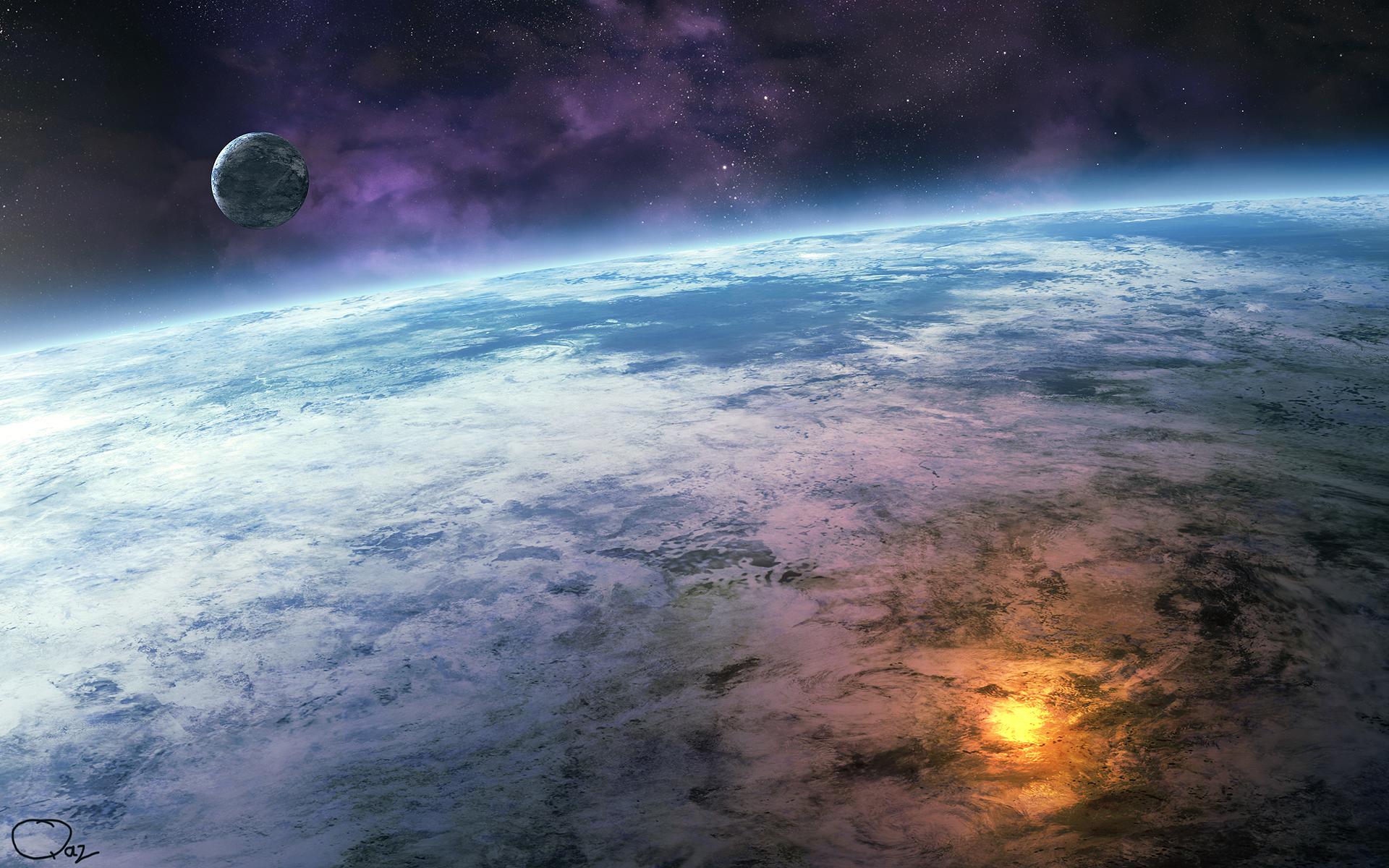 Обои Земля планета космос картинки на рабочий стол на тему Космос - скачать  № 3551650 без смс
