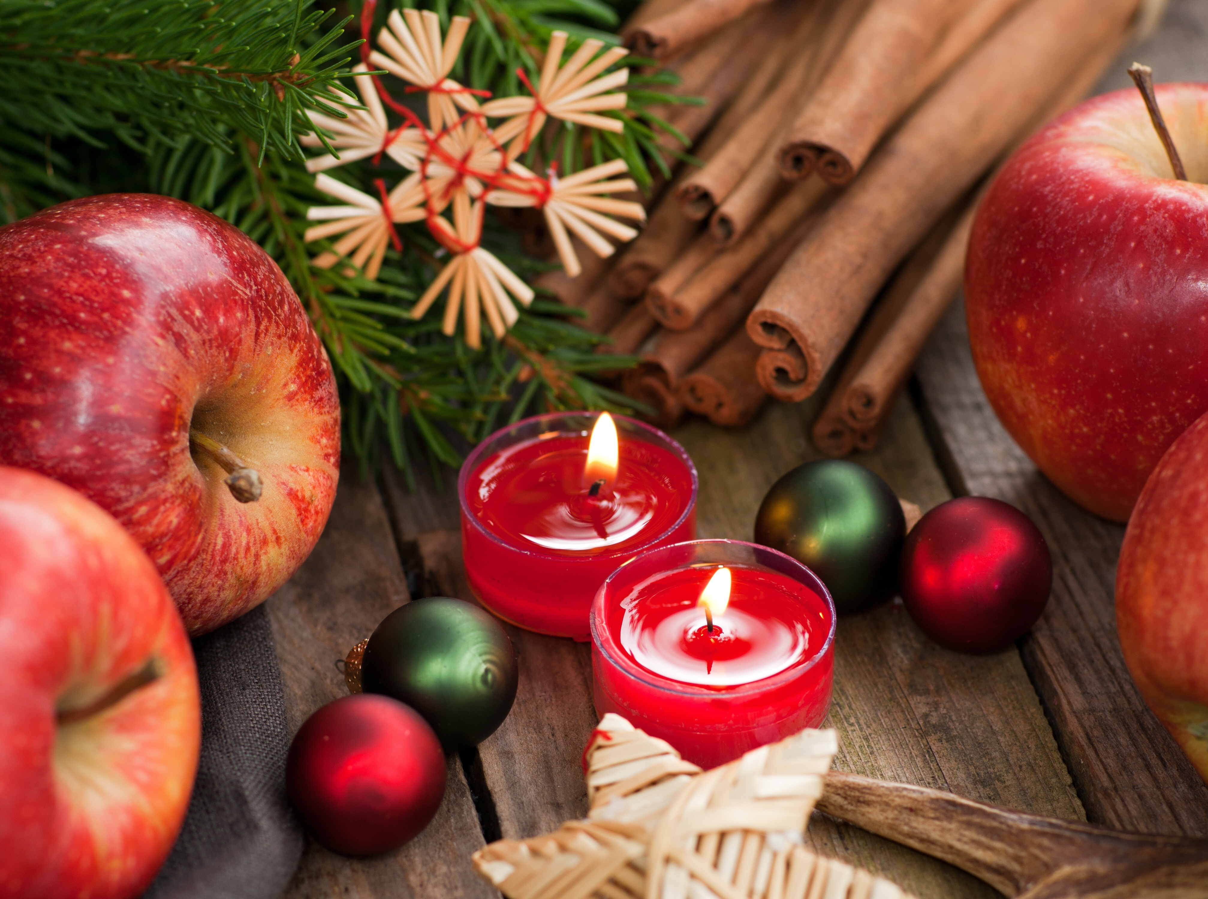 рождество новый год свечи  № 3334050 без смс