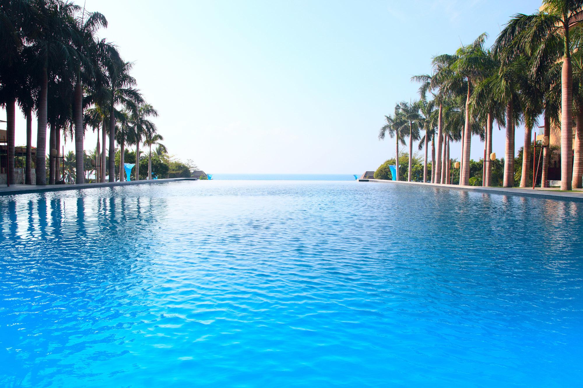 природа бассейн отдых море nature pool the rest sea  № 3546041 загрузить