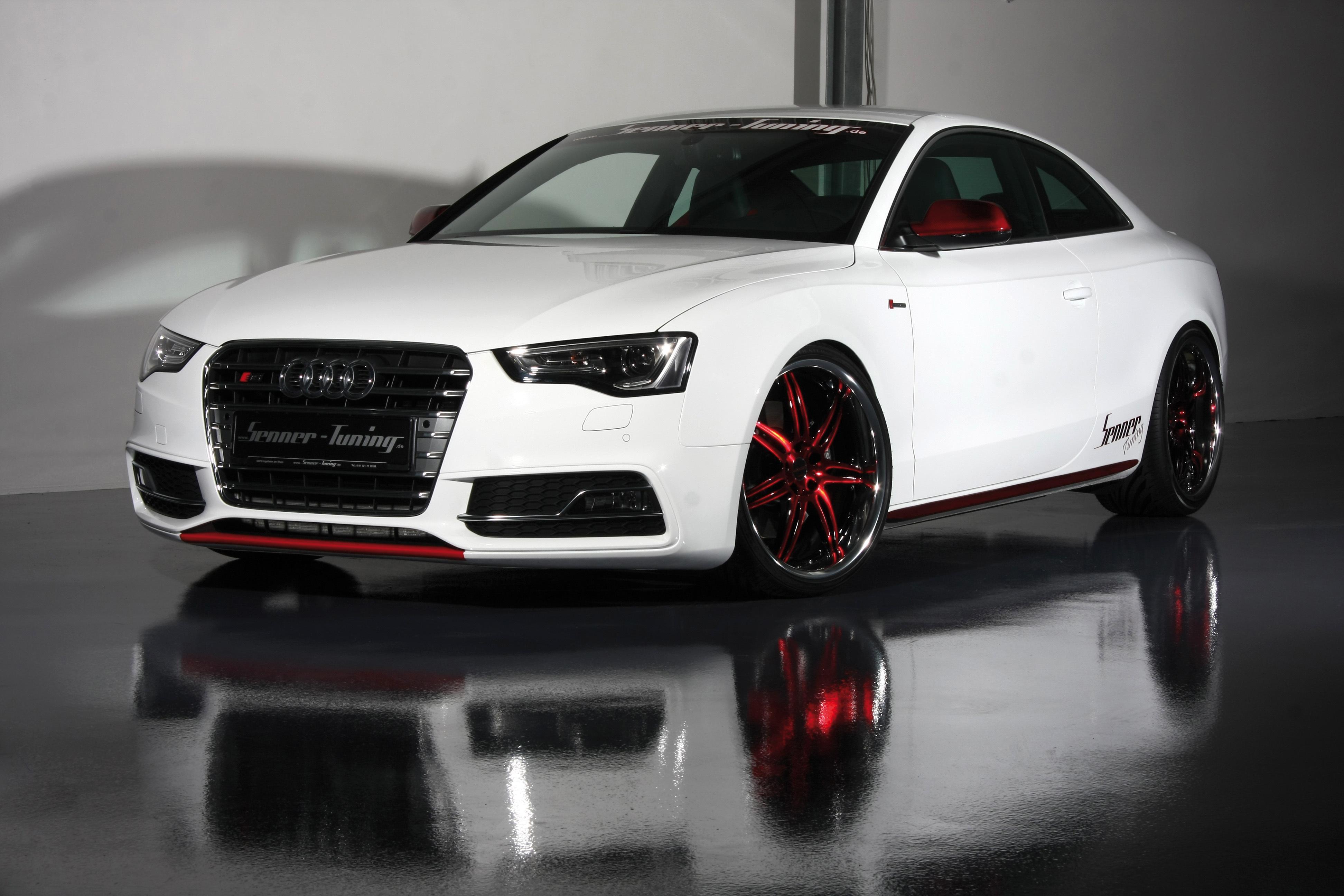 Audi S5 здание освещение  № 2217164 бесплатно