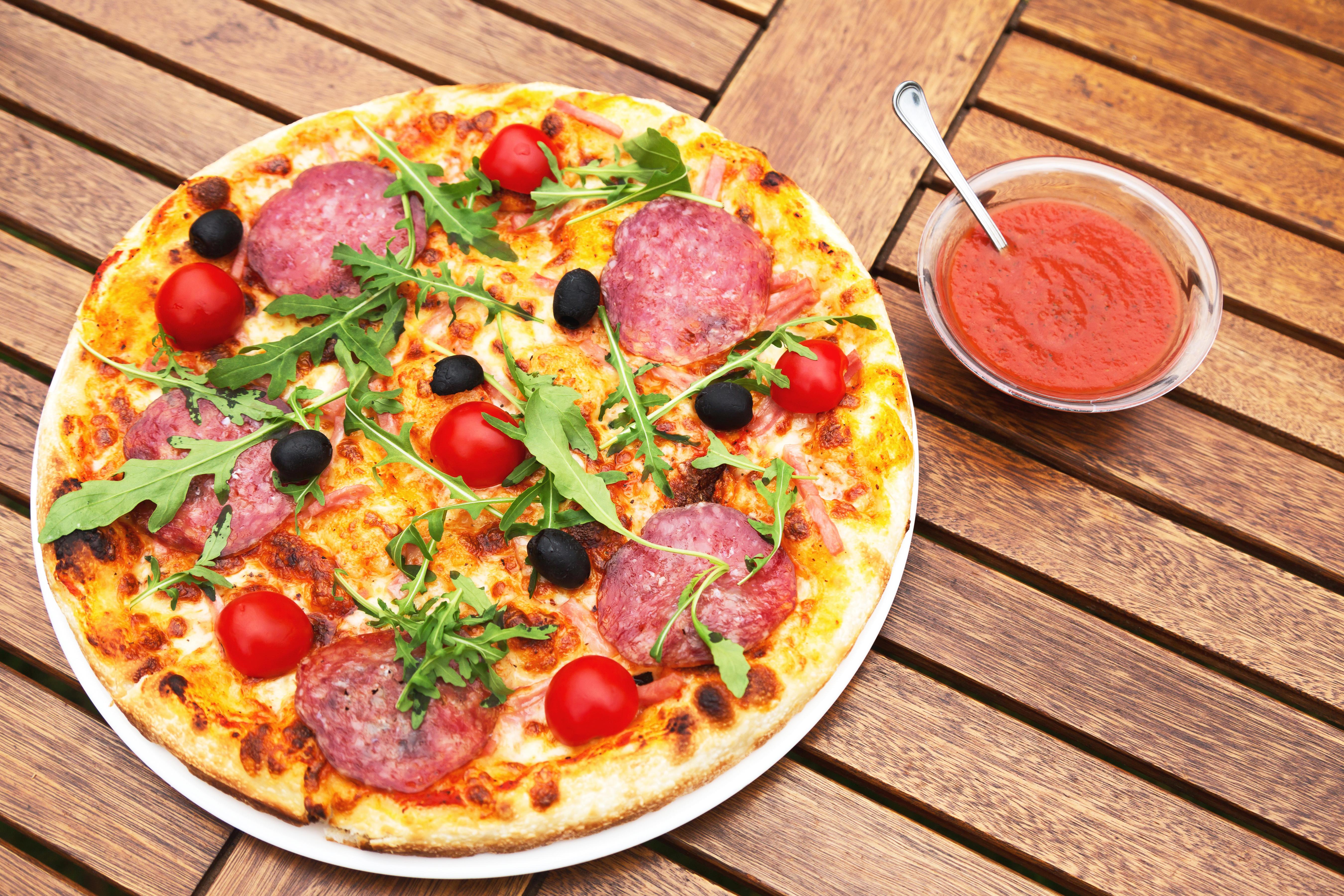 Как сделать пиццу без помидор