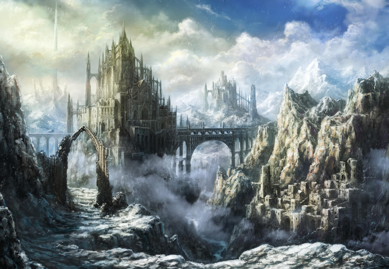Замок в лучах света  № 917154 загрузить