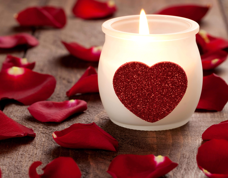 сердце свеча доски  № 3937775 без смс
