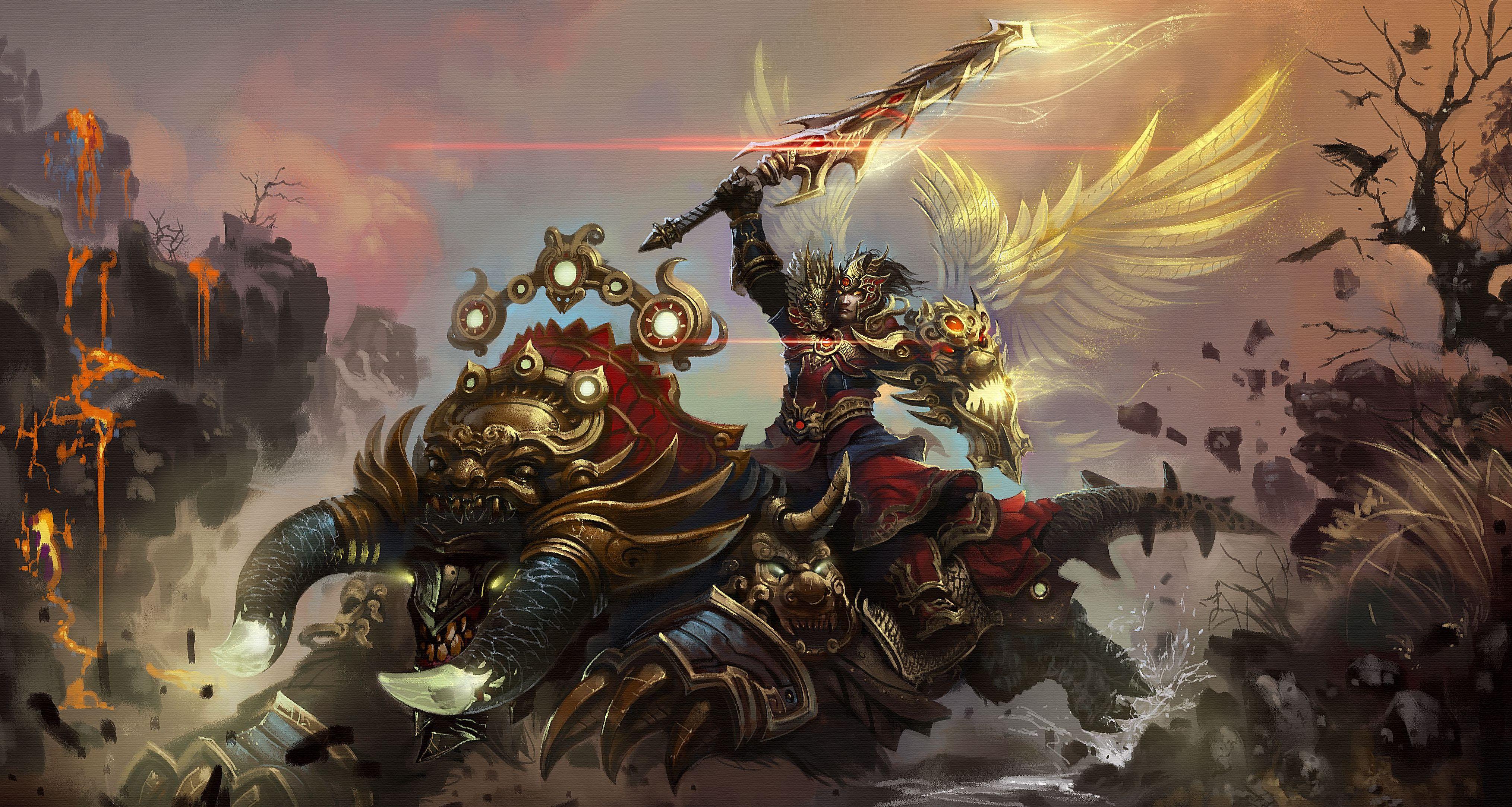 Fantasy samurai armor