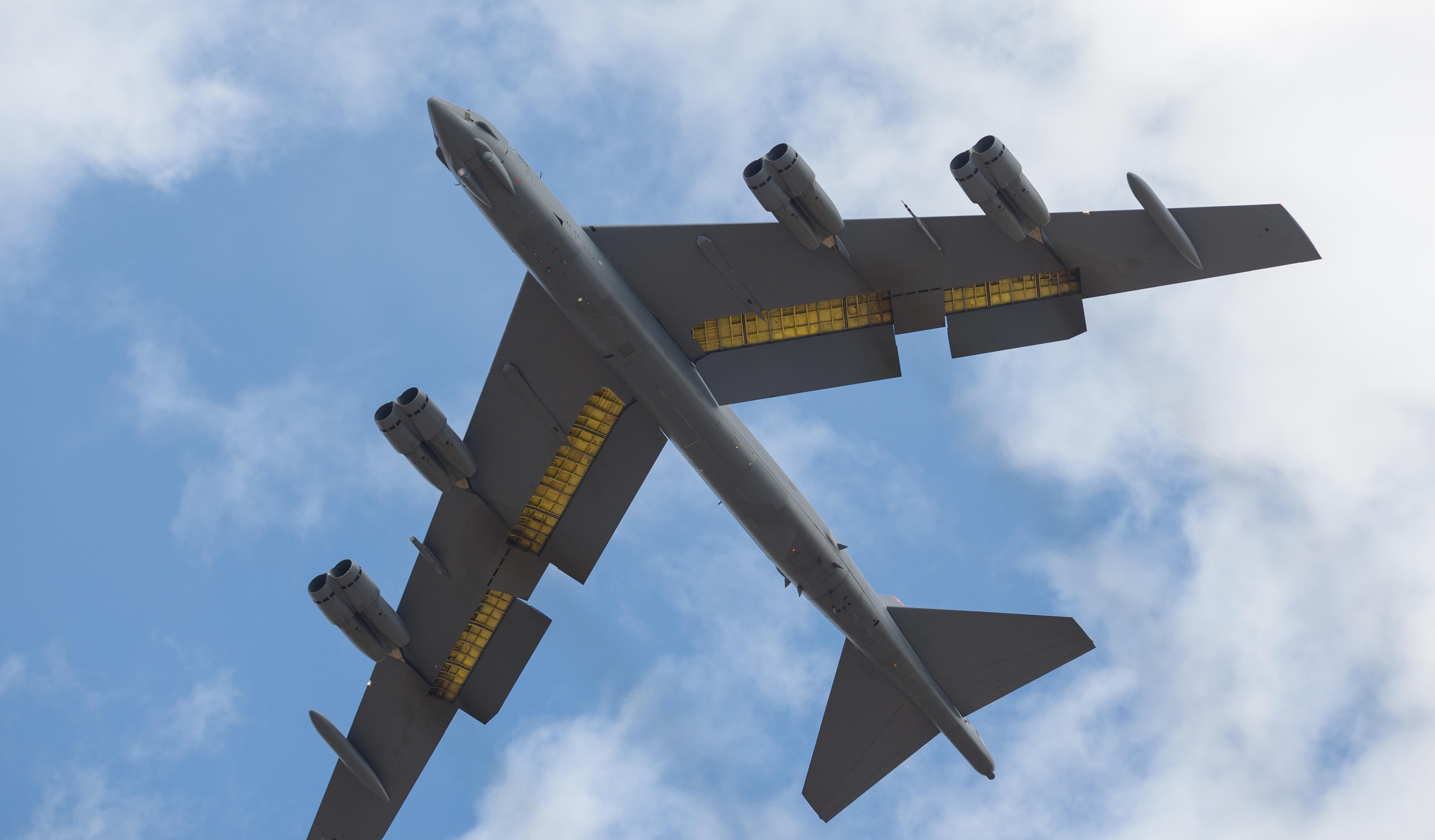 Бомбардировщик b-52  № 2853112 без смс
