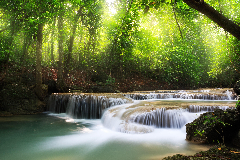 природа озеро водопад  № 768623  скачать